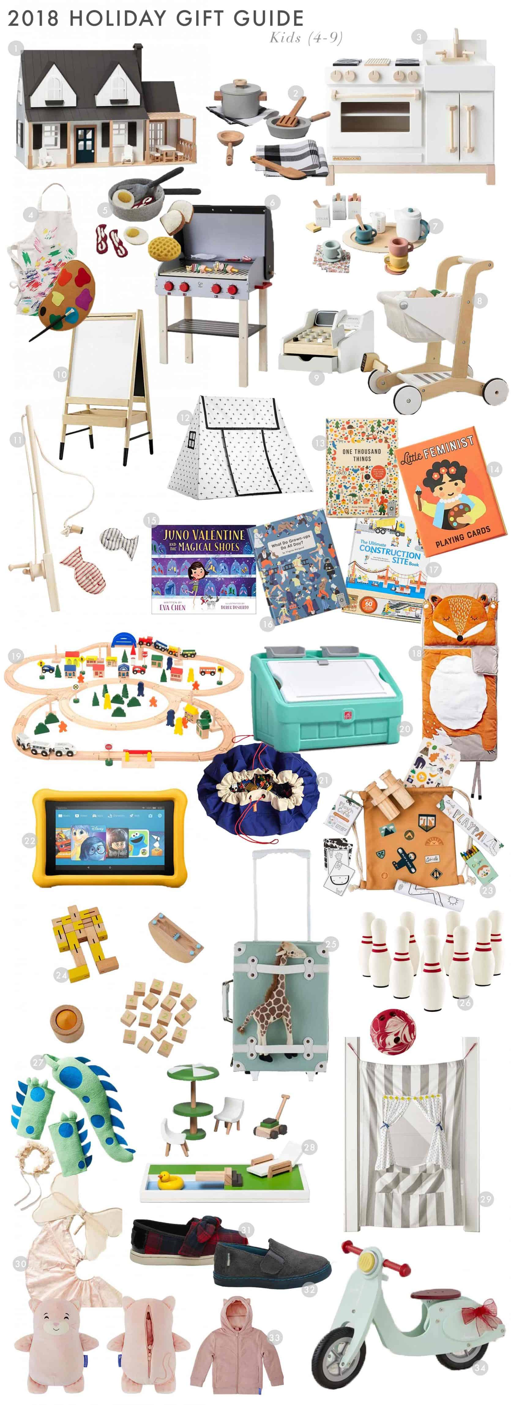 Emily Henderson Gift Guide 2018 Holiday Christmas Kids And Teens Kids
