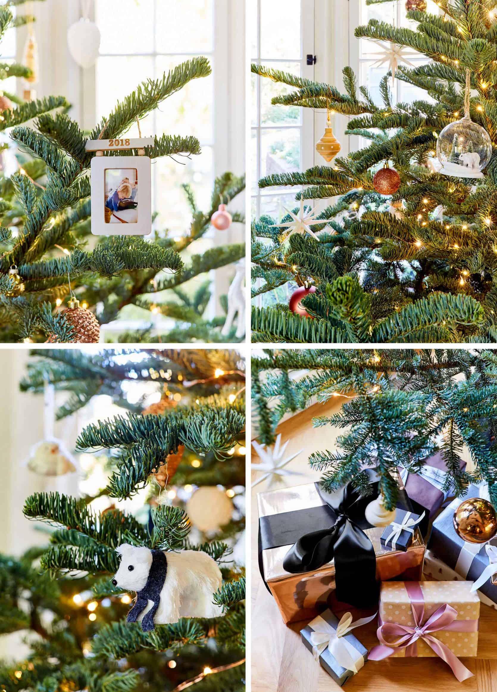 2x2 Grid Ornament Details