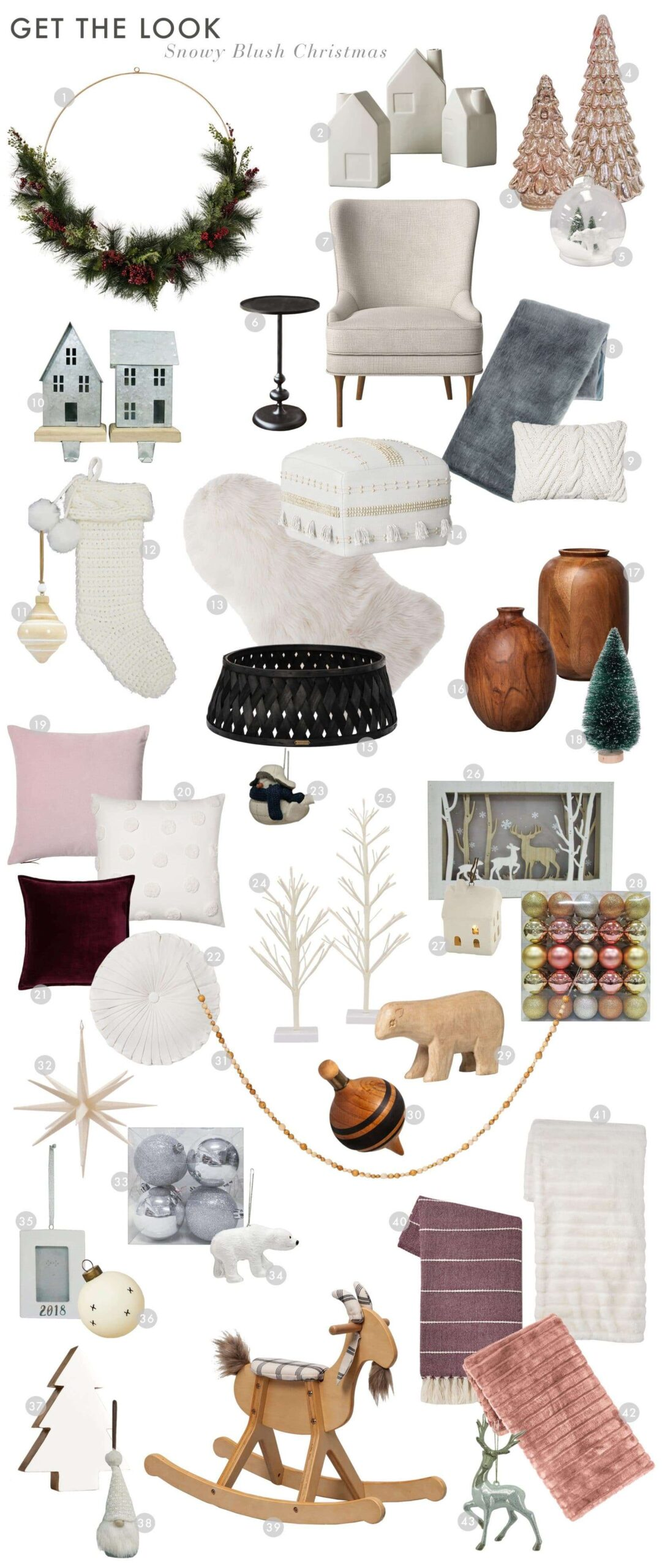 Emily Henderson Christmas Home 2018 Get The Look 1 1670x3954