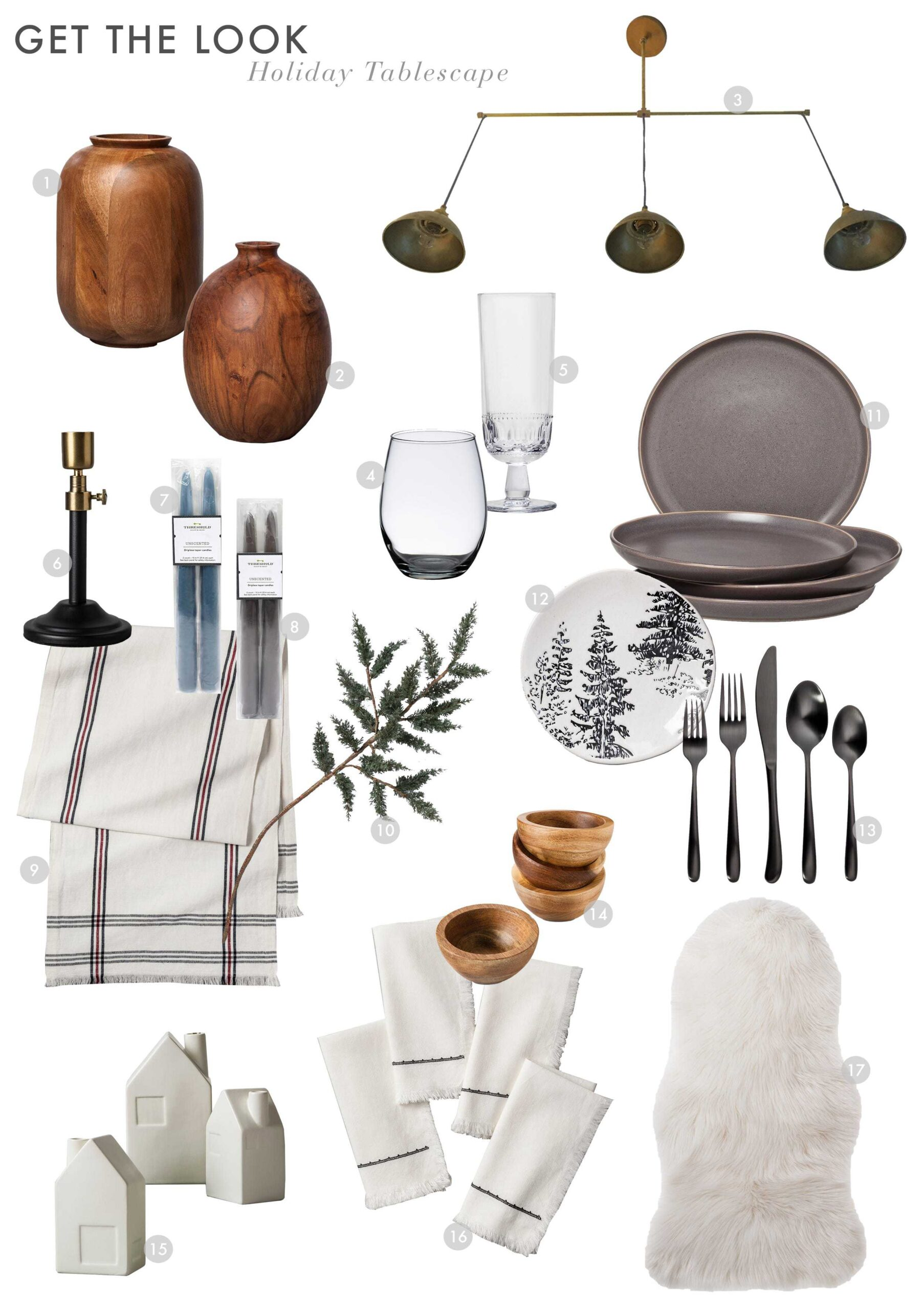 Emily Henderson Holiday Tablescape House Beautiful Get The Look