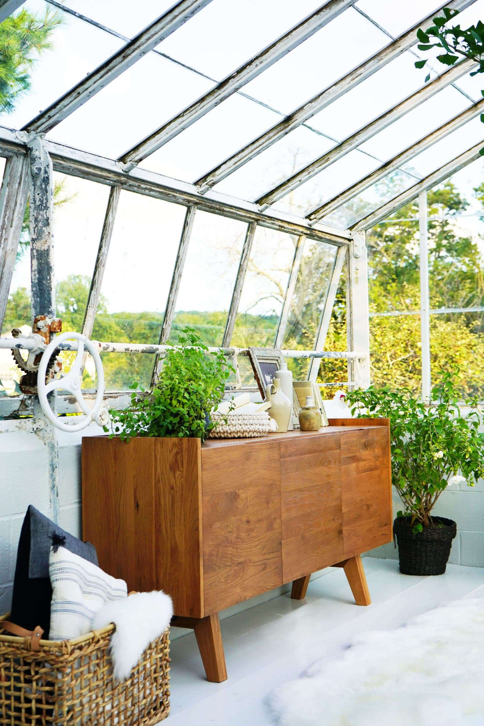 Emily Henderson Samsung The Frame My Scandinavian Home Greenhouse 13