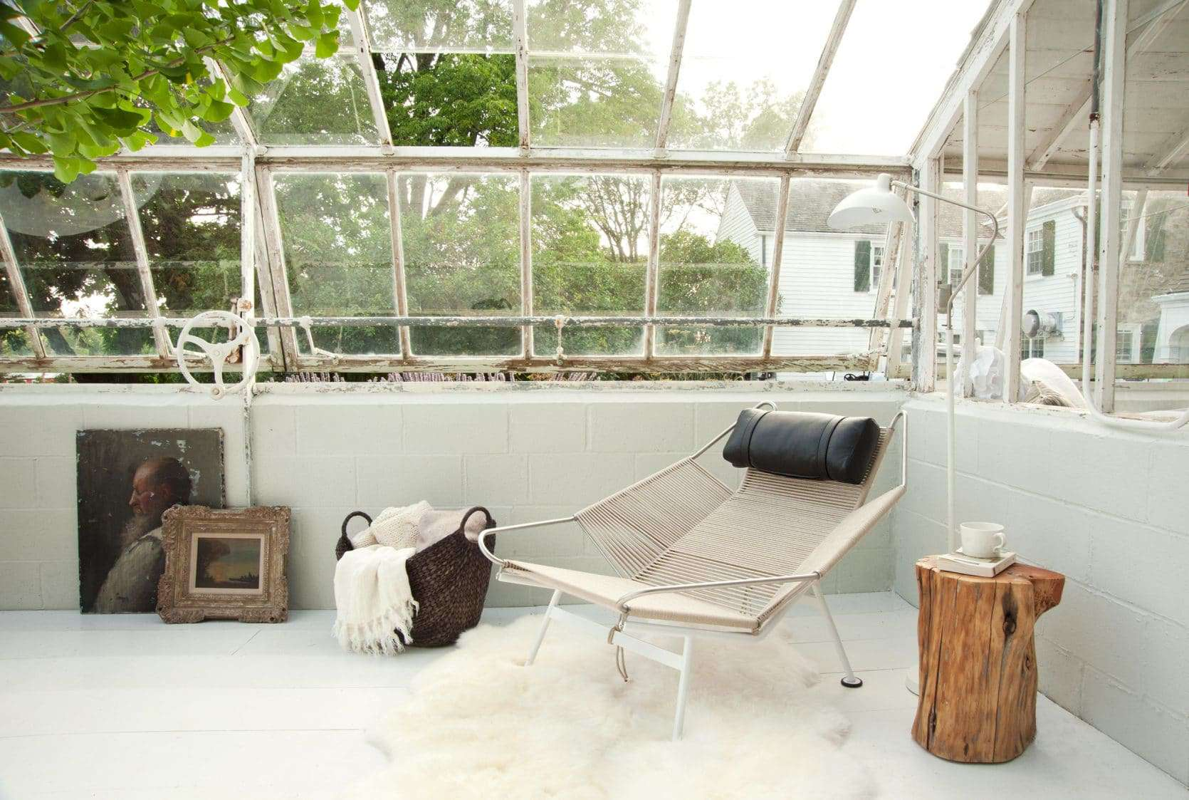 Emily Henderson Samsung The Frame My Scandinavian Home Greenhouse 44