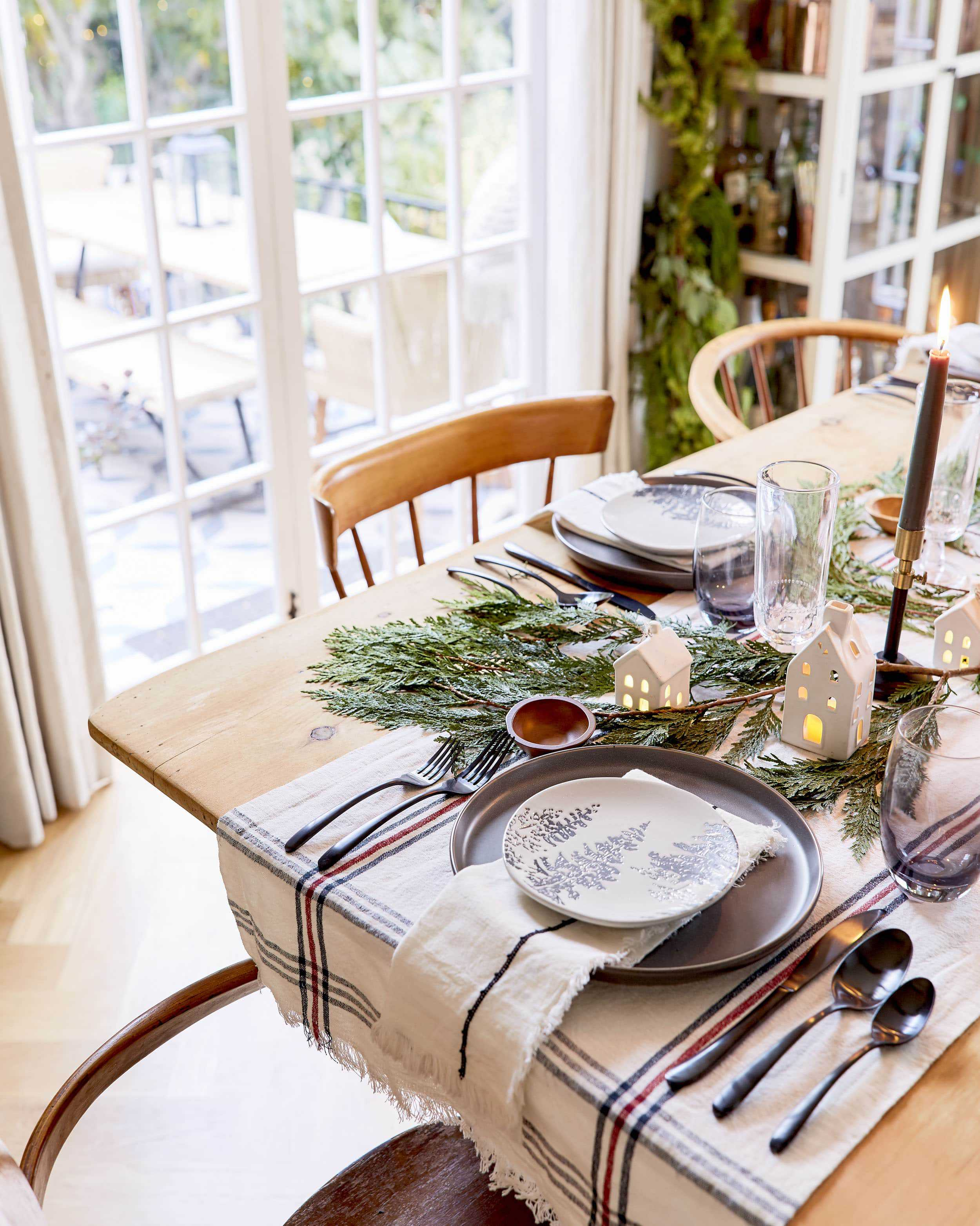 Emily Henderson House Beautiful Holiday Tablescape 11