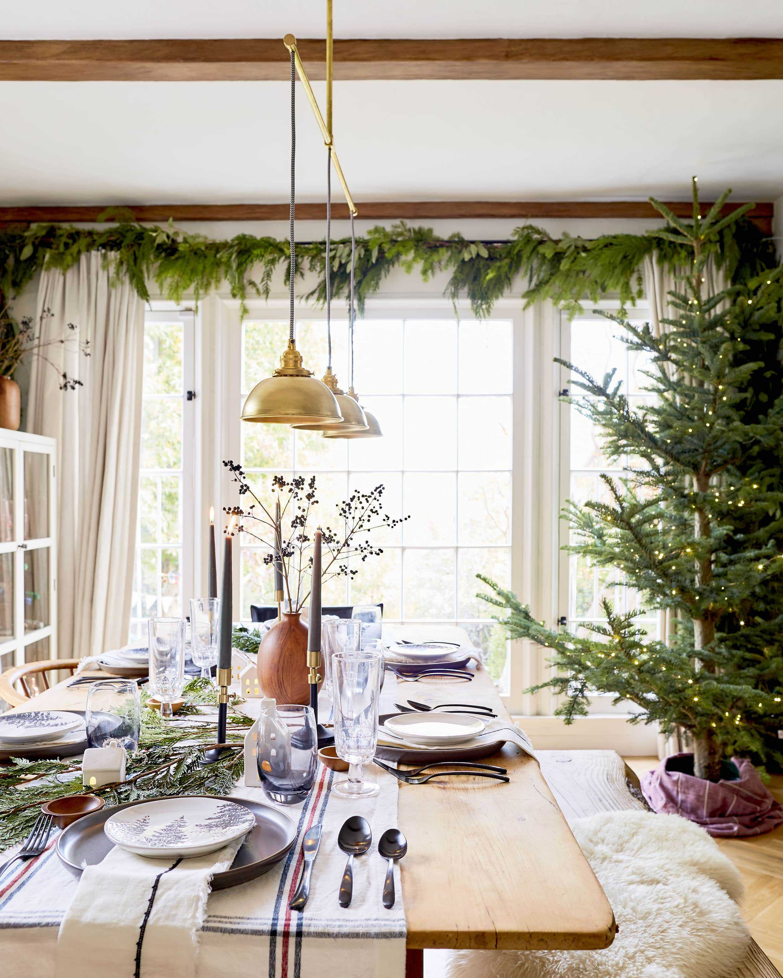 Emily Henderson House Beautiful Holiday Tablescape 3