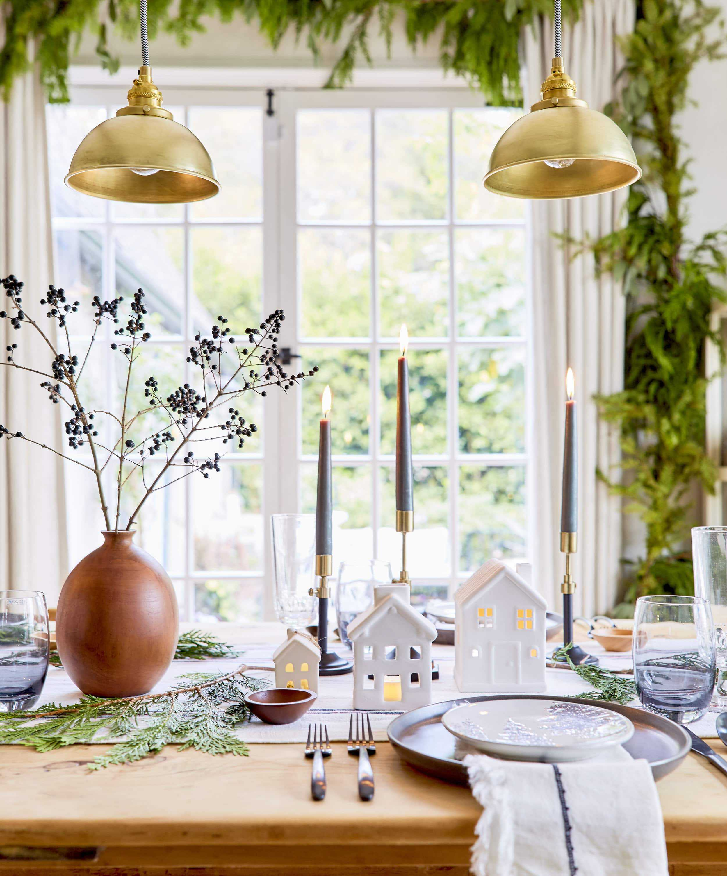 Emily Henderson House Beautiful Holiday Tablescape 7