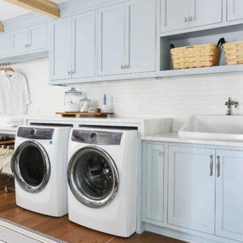 Emily Henderson Portland Traditional Laundry Room 1 1