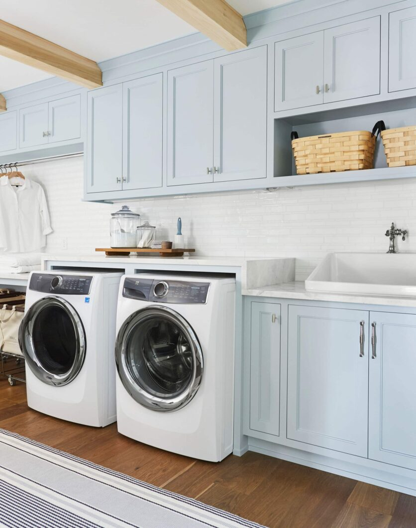 Emily Henderson Portland Traditional Laundry Room 1 1