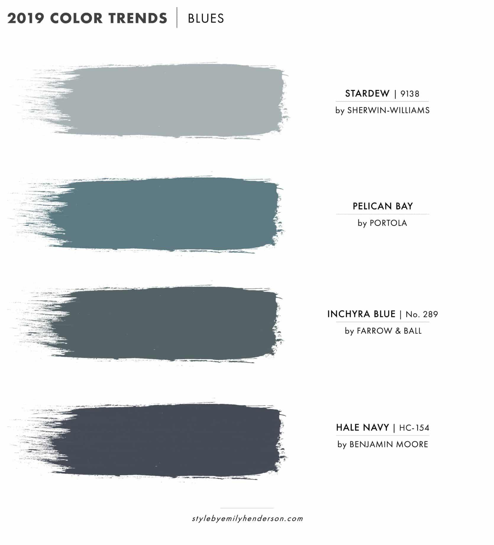 2019 Paint Color Trends Emily Henderson