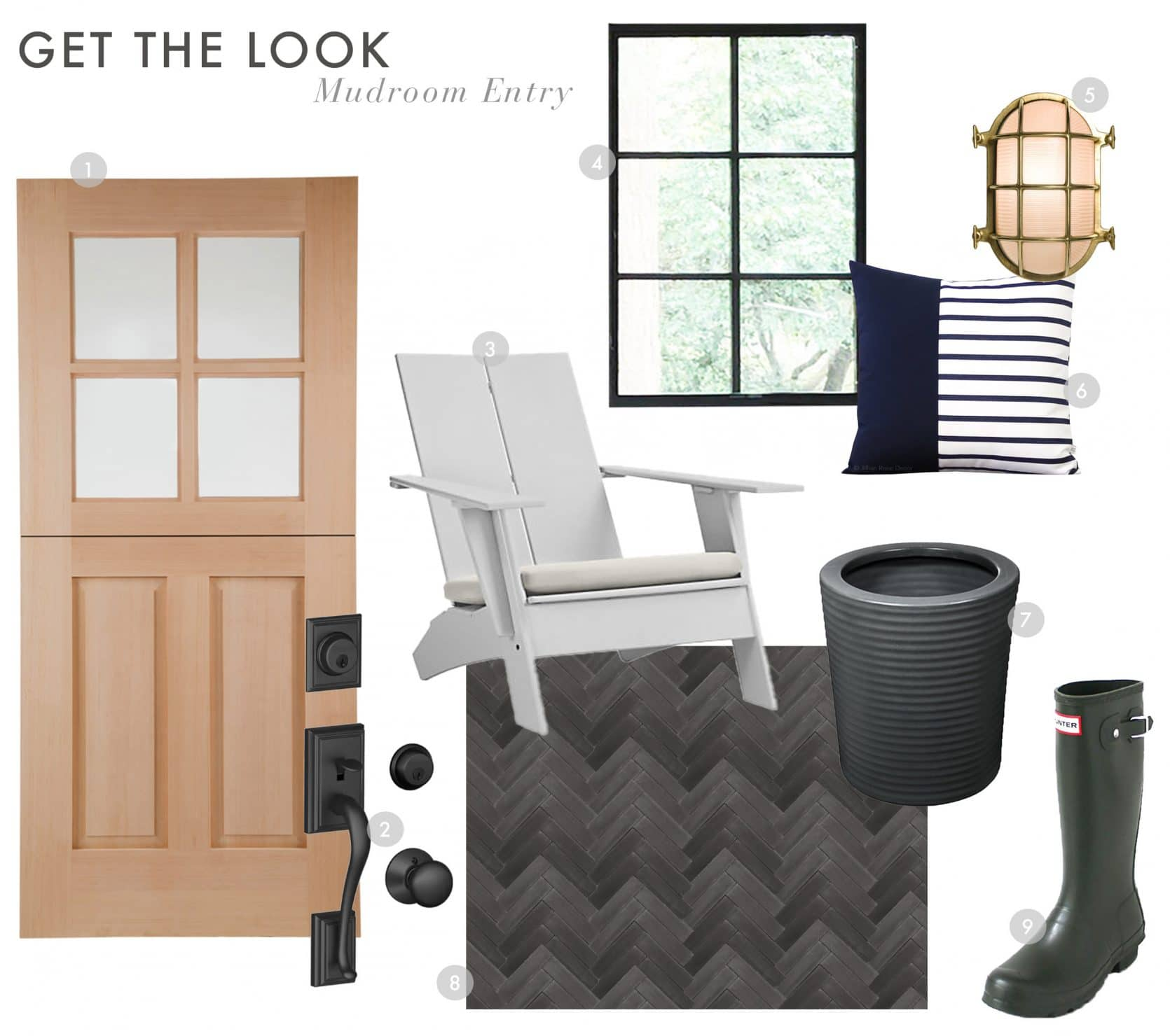 Emily Henderson Portland Traditional Mudroom Entry Reveal
