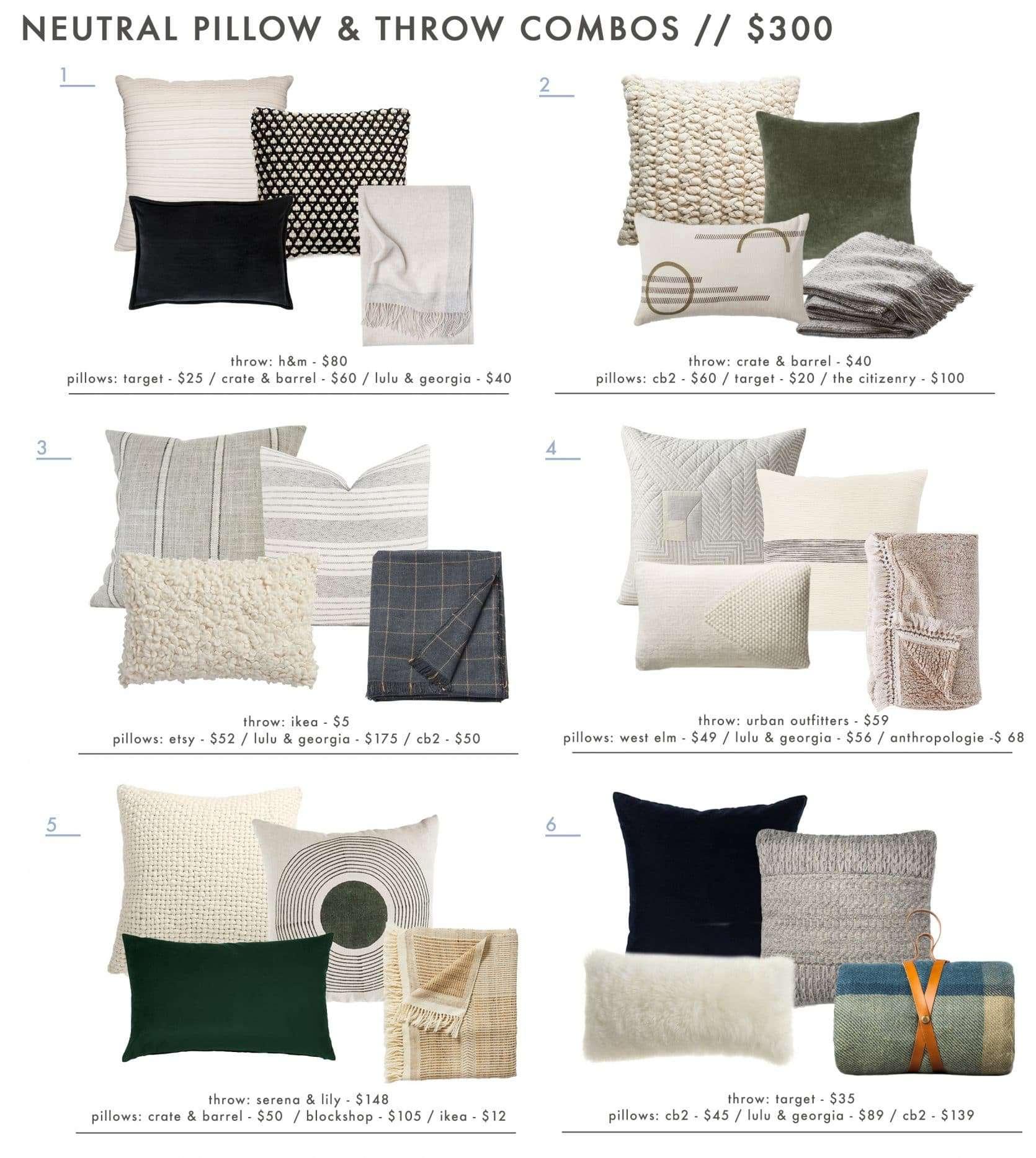 Emily Henderson Roundup Mountain Fixer Pillow Combos 300 1
