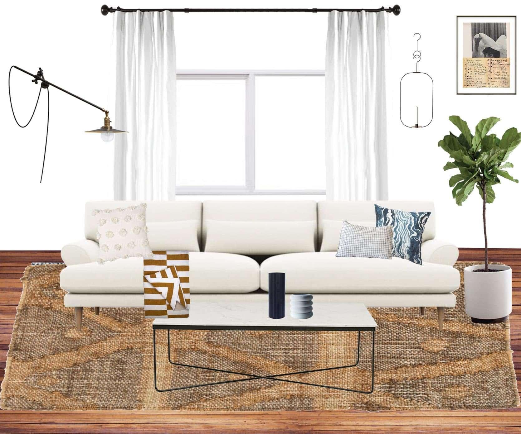 Emily Henderson Jess Moto Living Room Mood Board 2