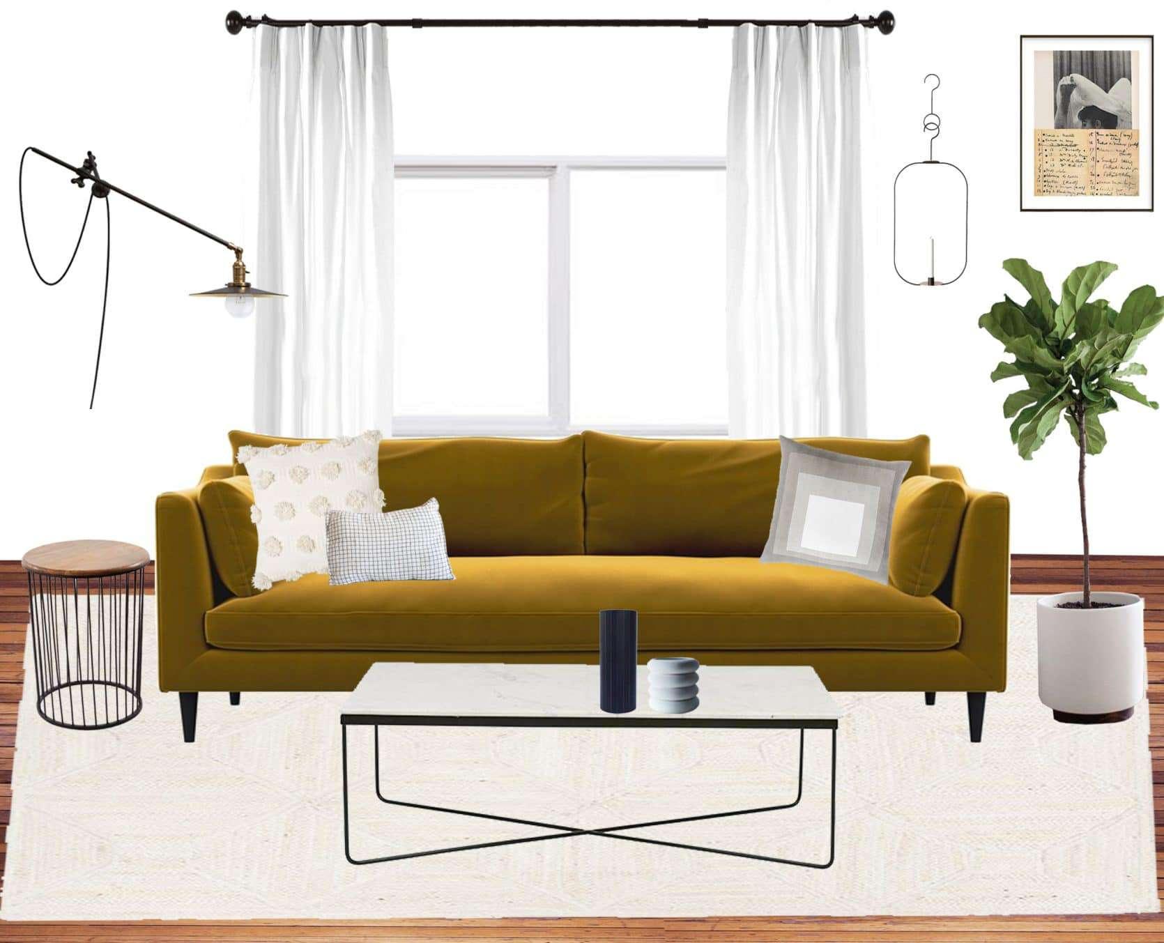 Emily Henderson Jess Moto Living Room Mood Board 5