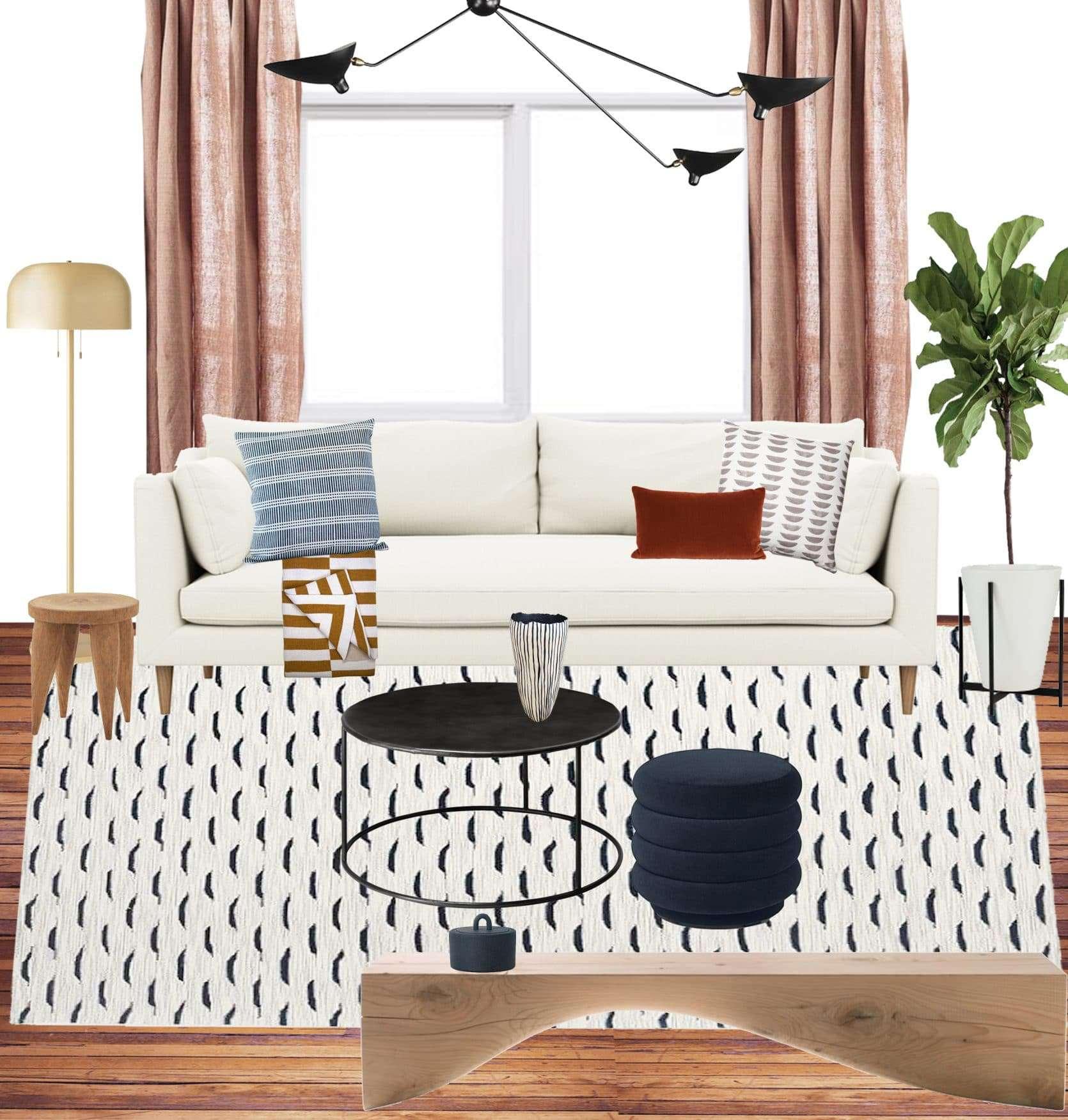 Emily Henderson Jess Moto Living Room Mood Board 6