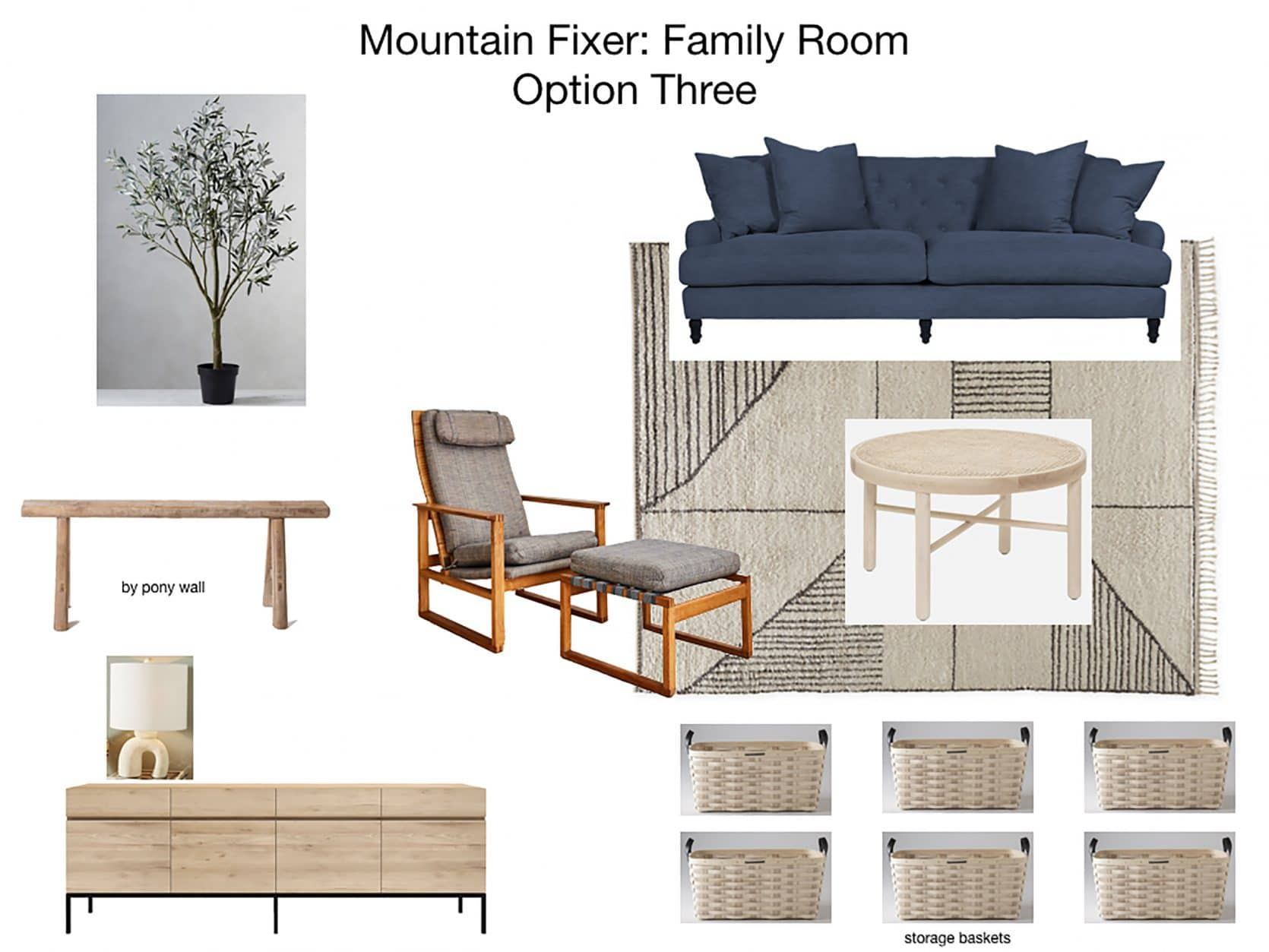 Mountain House Family Room Furniture Plan 3