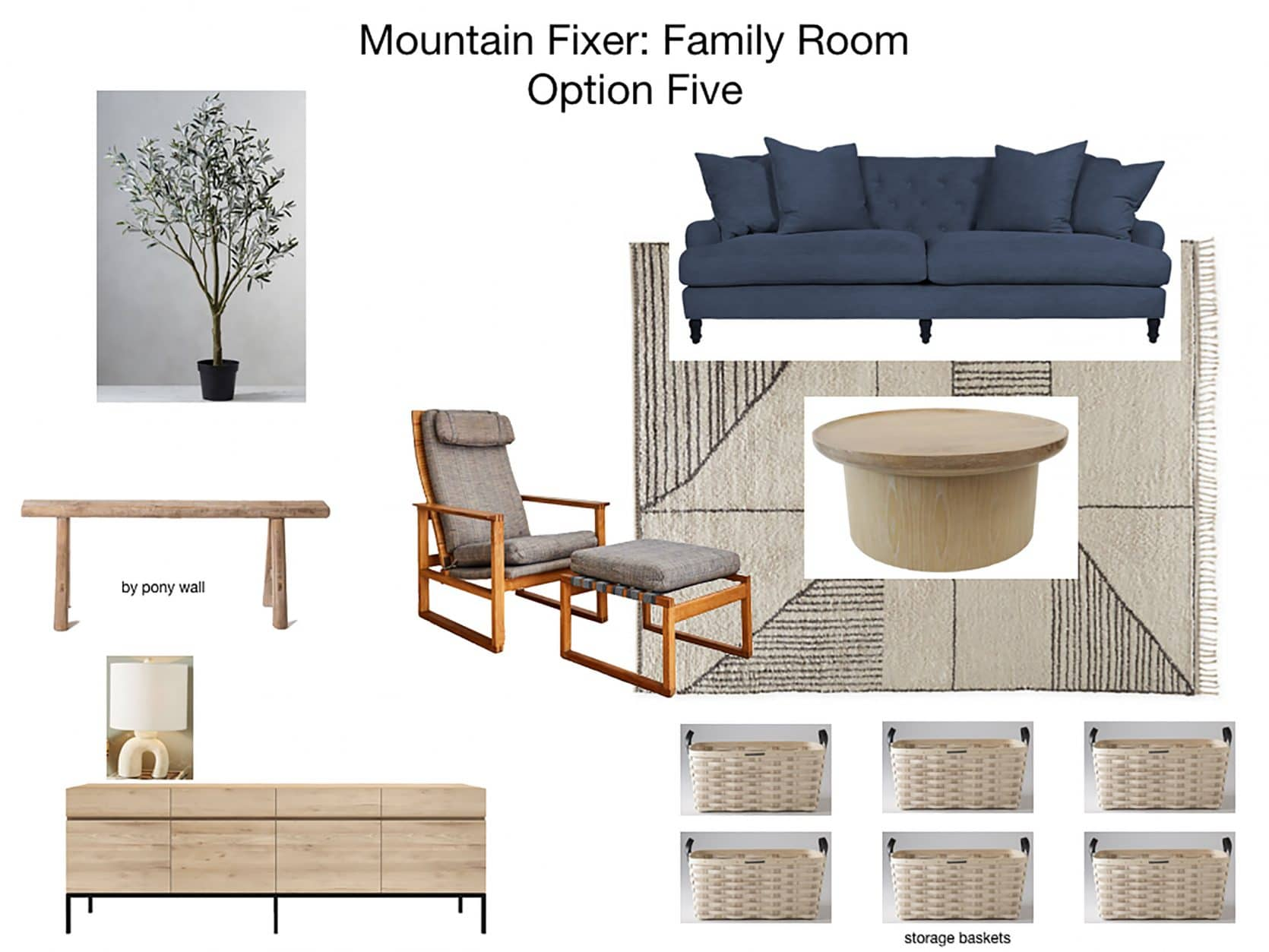 Mountain House Family Room Furniture Plan 5