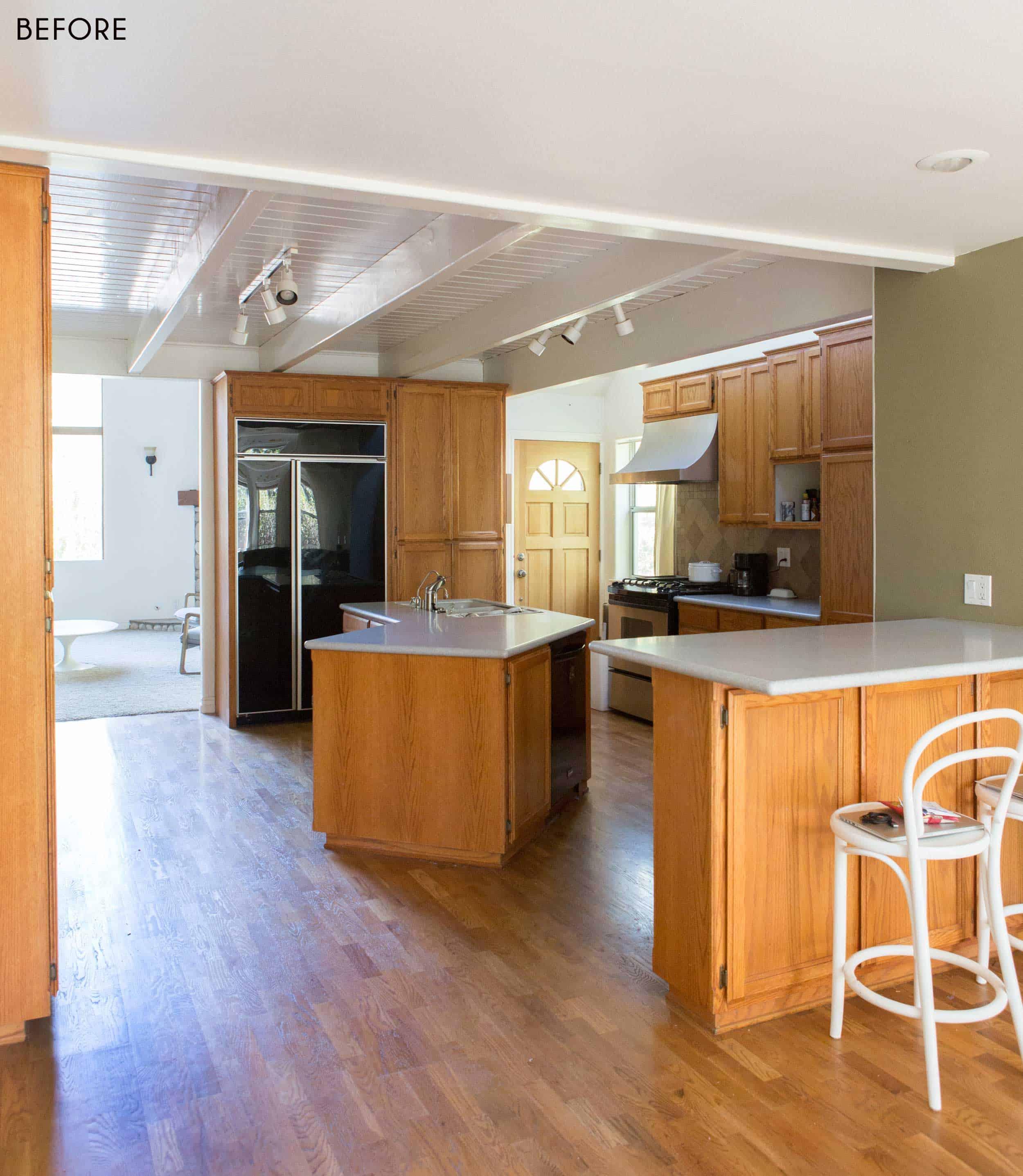 Emily Henderson Mountain House Scandinavian kitchen remodel_3