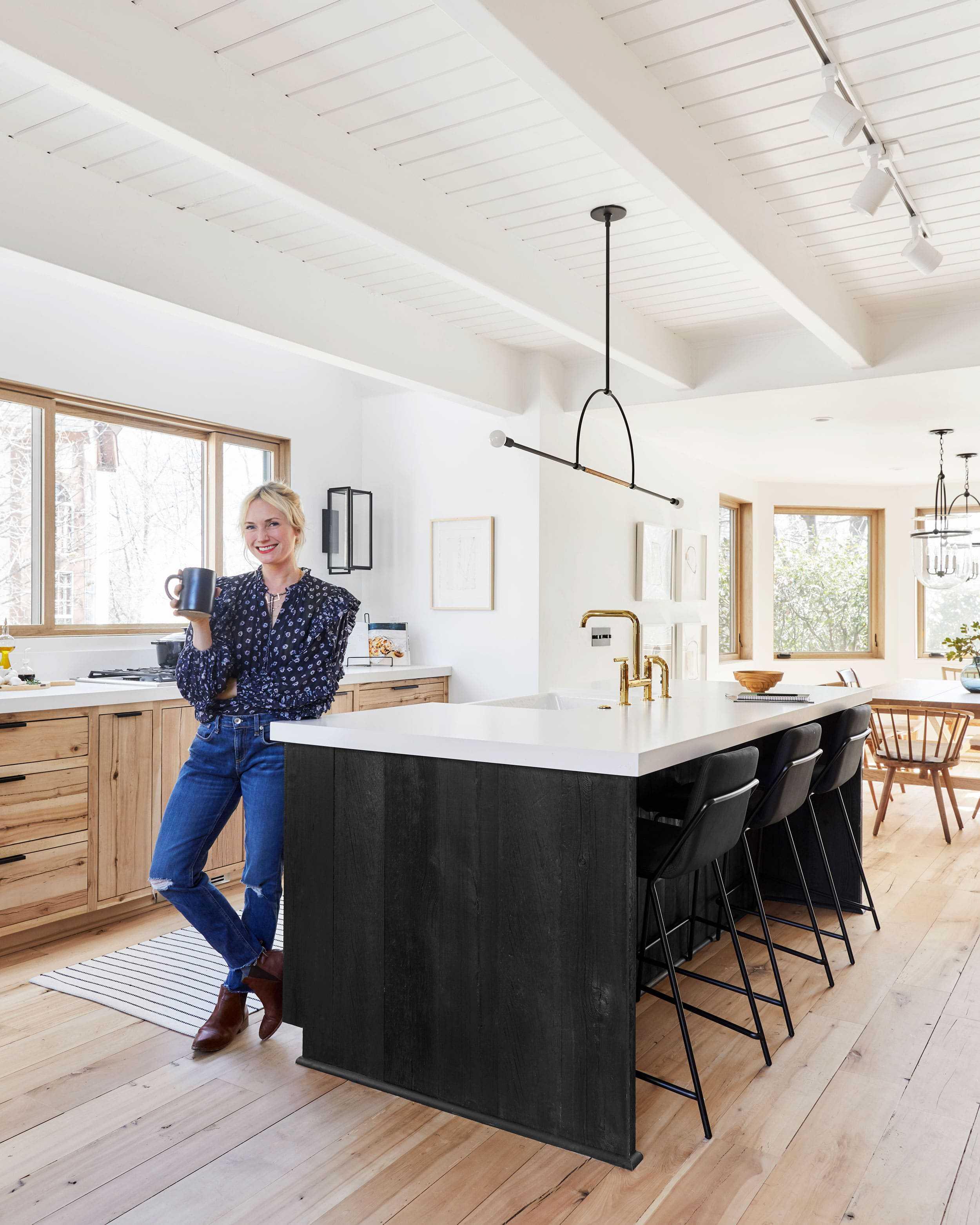 Emily Henderson Mountain House Scandinavian kitchen remodel_32