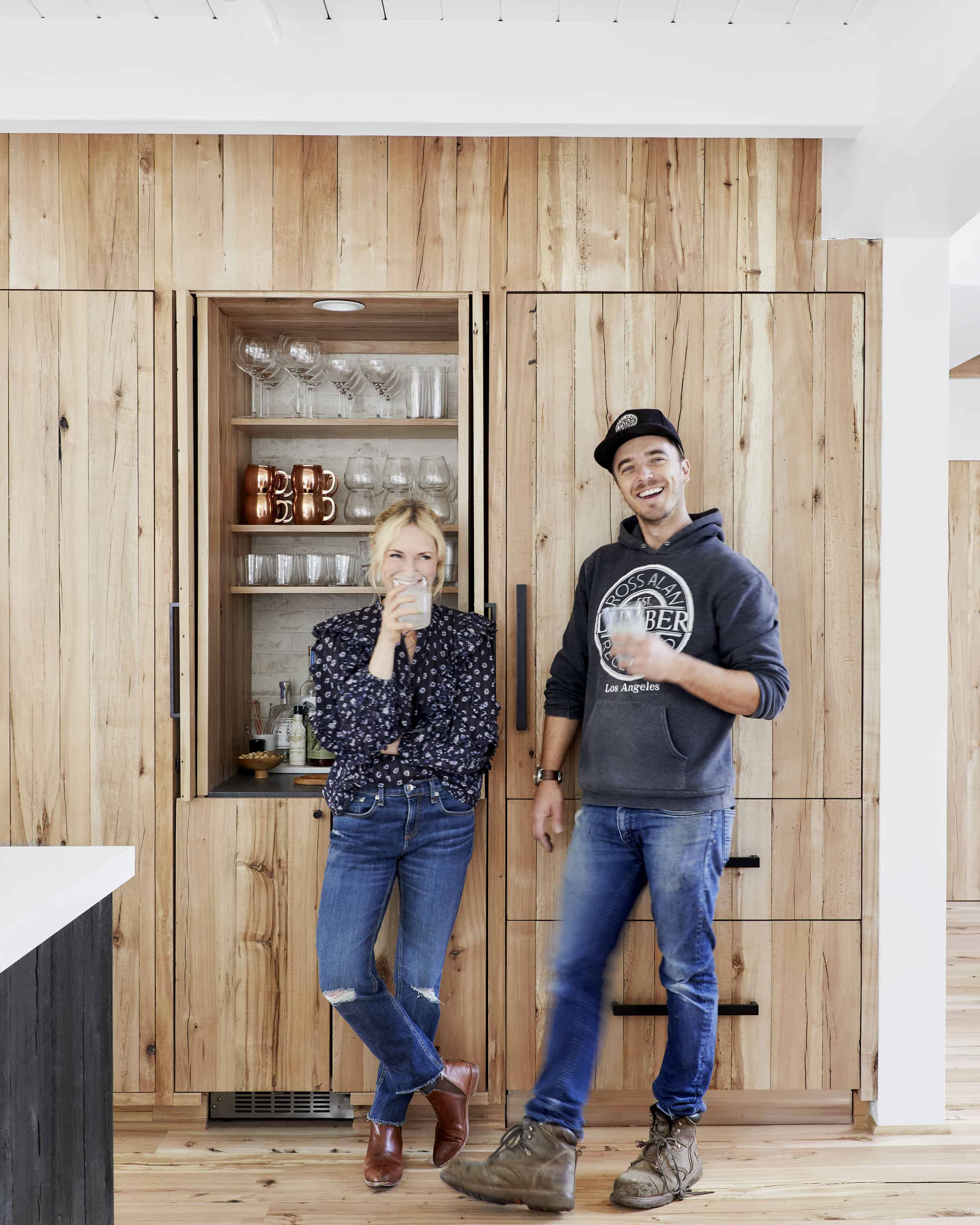 Emily Henderson Mountain House Scandinavian kitchen remodel_11