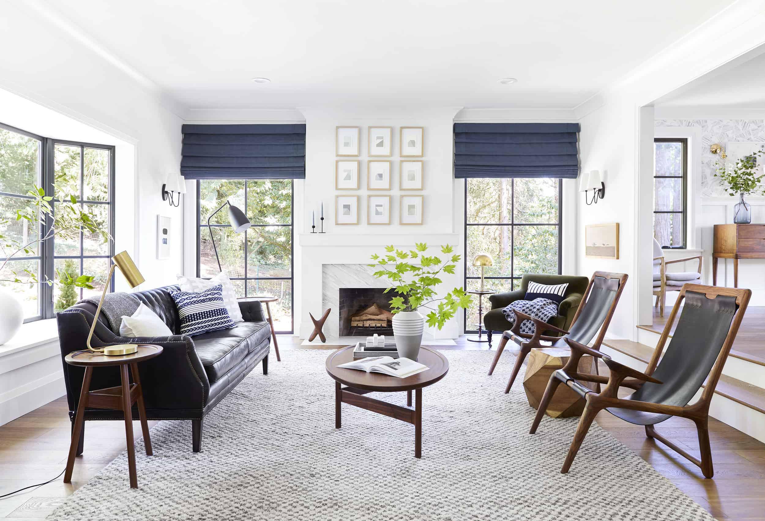 Emily Henderson Portland Traditional Living Room17