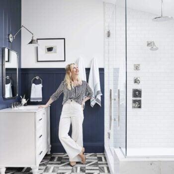 Emily Henderson Portland Traditional Master Bathroom221