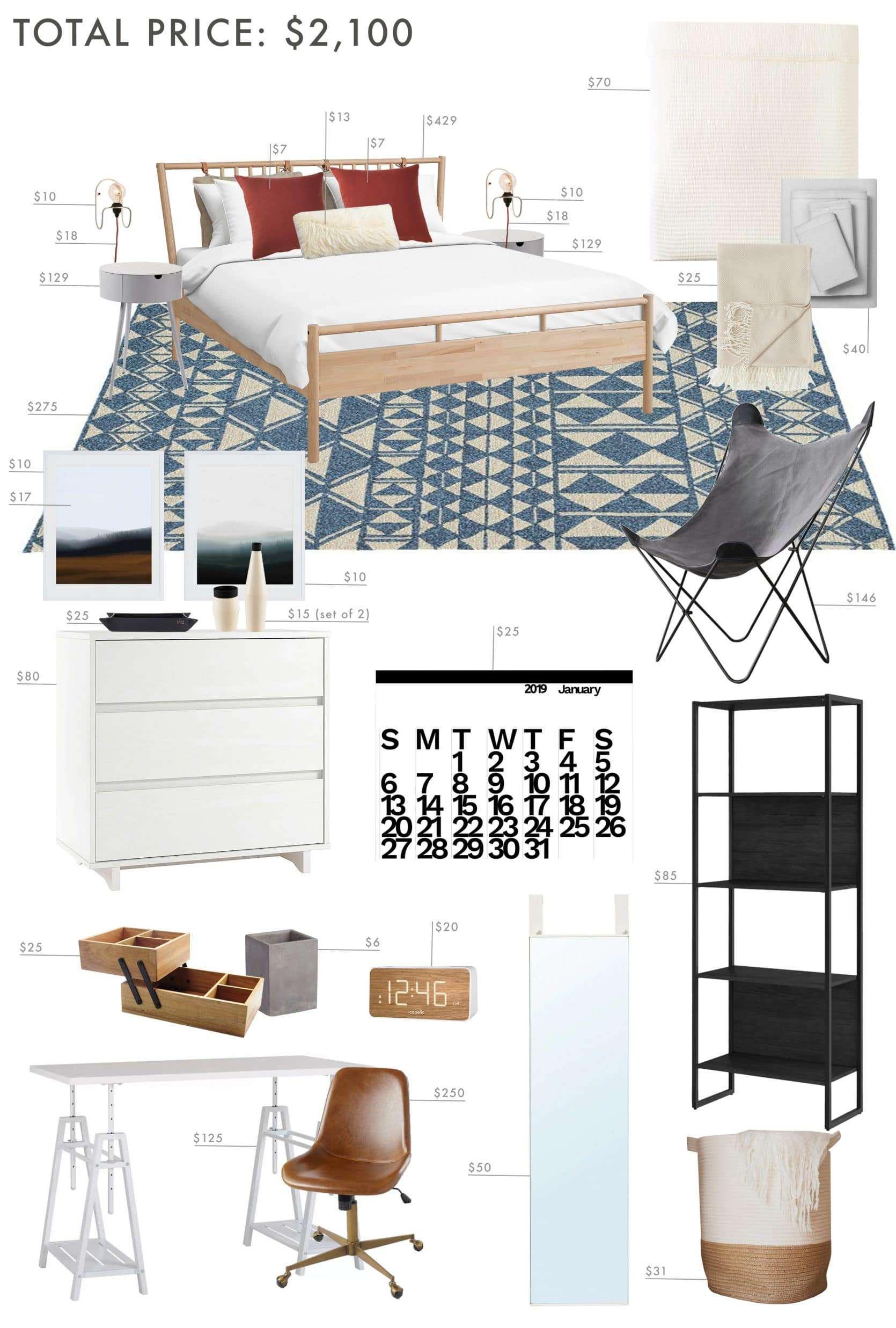Emily Henderson teen bedroom ideas
