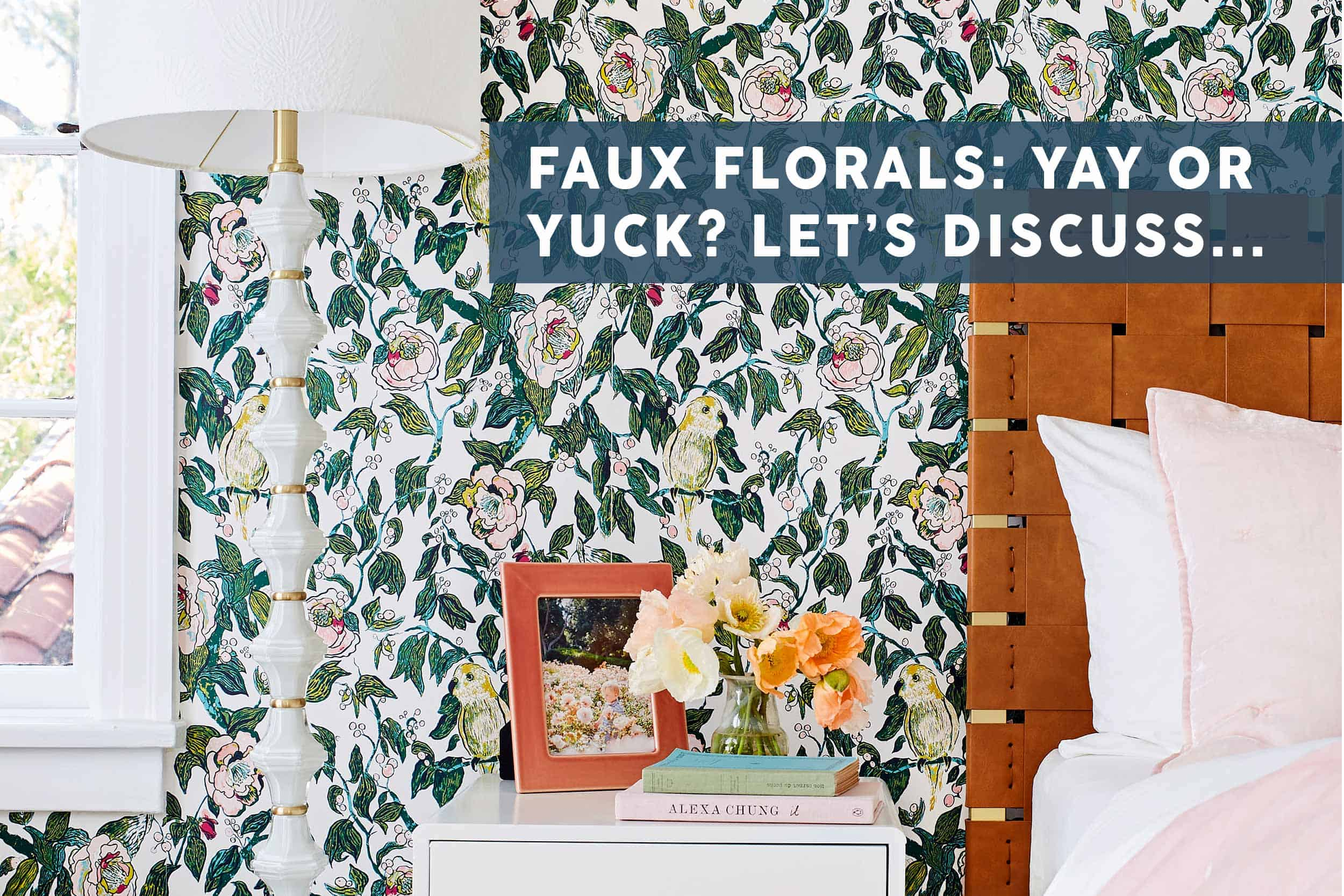 When Why To Use Faux House Plants Florals What To Look For When Buying Them