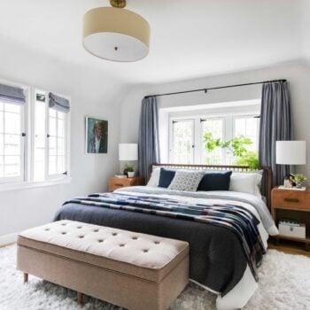 Emily Henderson Modern English Cottage Tudor Master Bedroom Reveal1