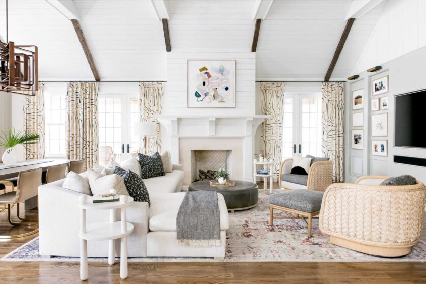 Emily Henderson Rug And Curtain Combos Inspo 4