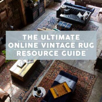 Emily Henderson Vintage Rugs Online Resource Opener 1