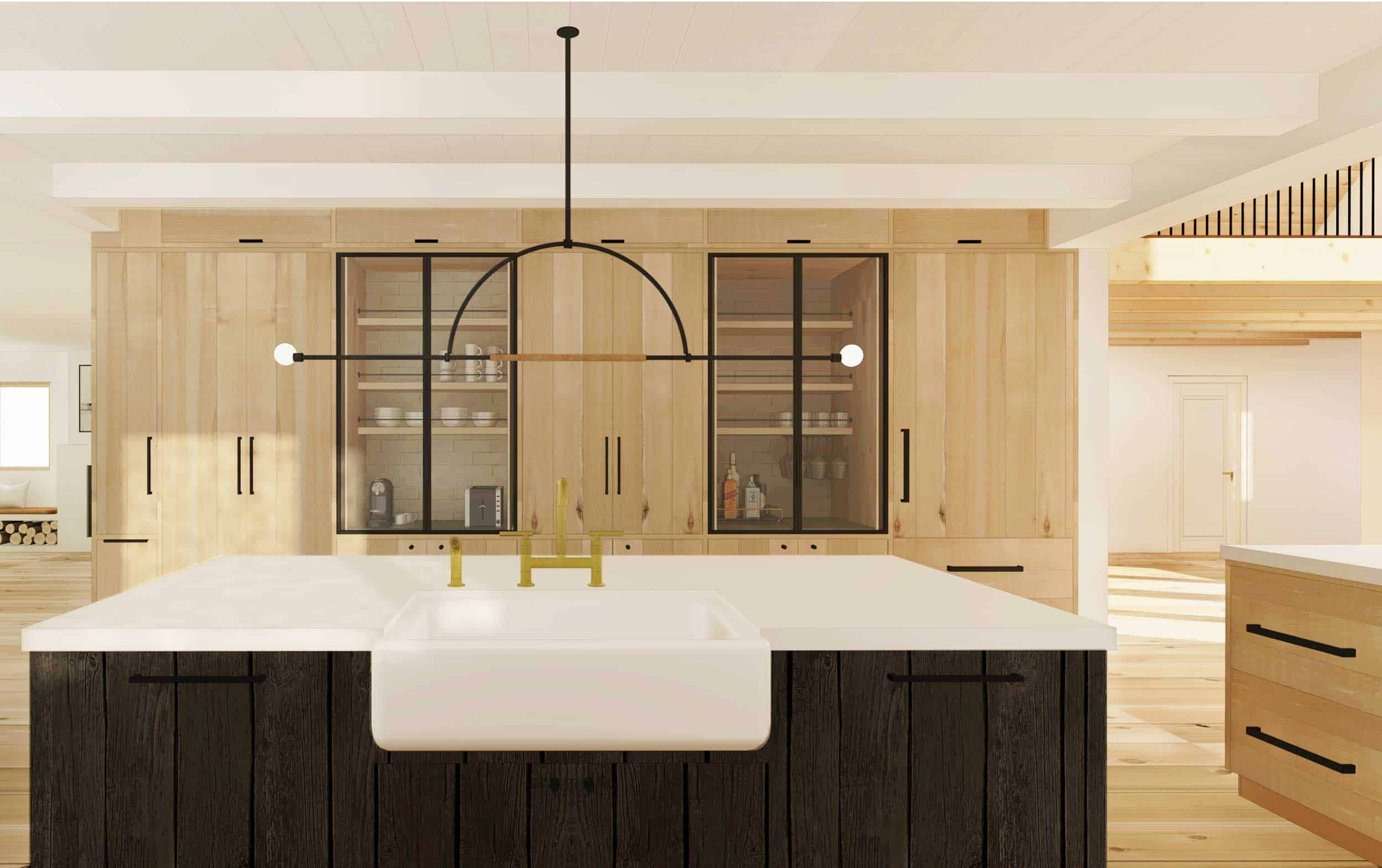 Emily Henderson Mountain House Scandinavian kitchen remodel_9