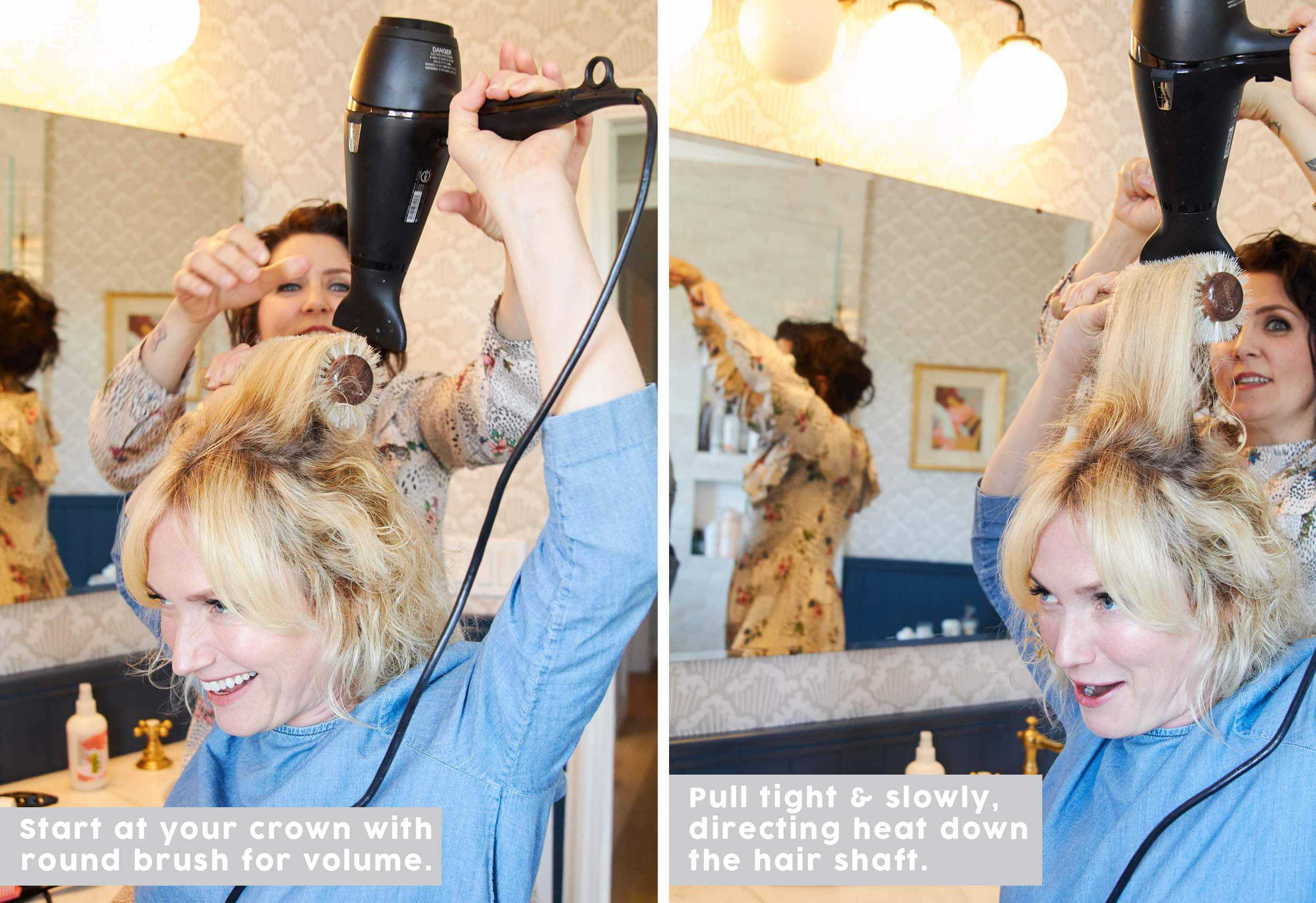 Emily Henderson How To Blow Dry Right 3