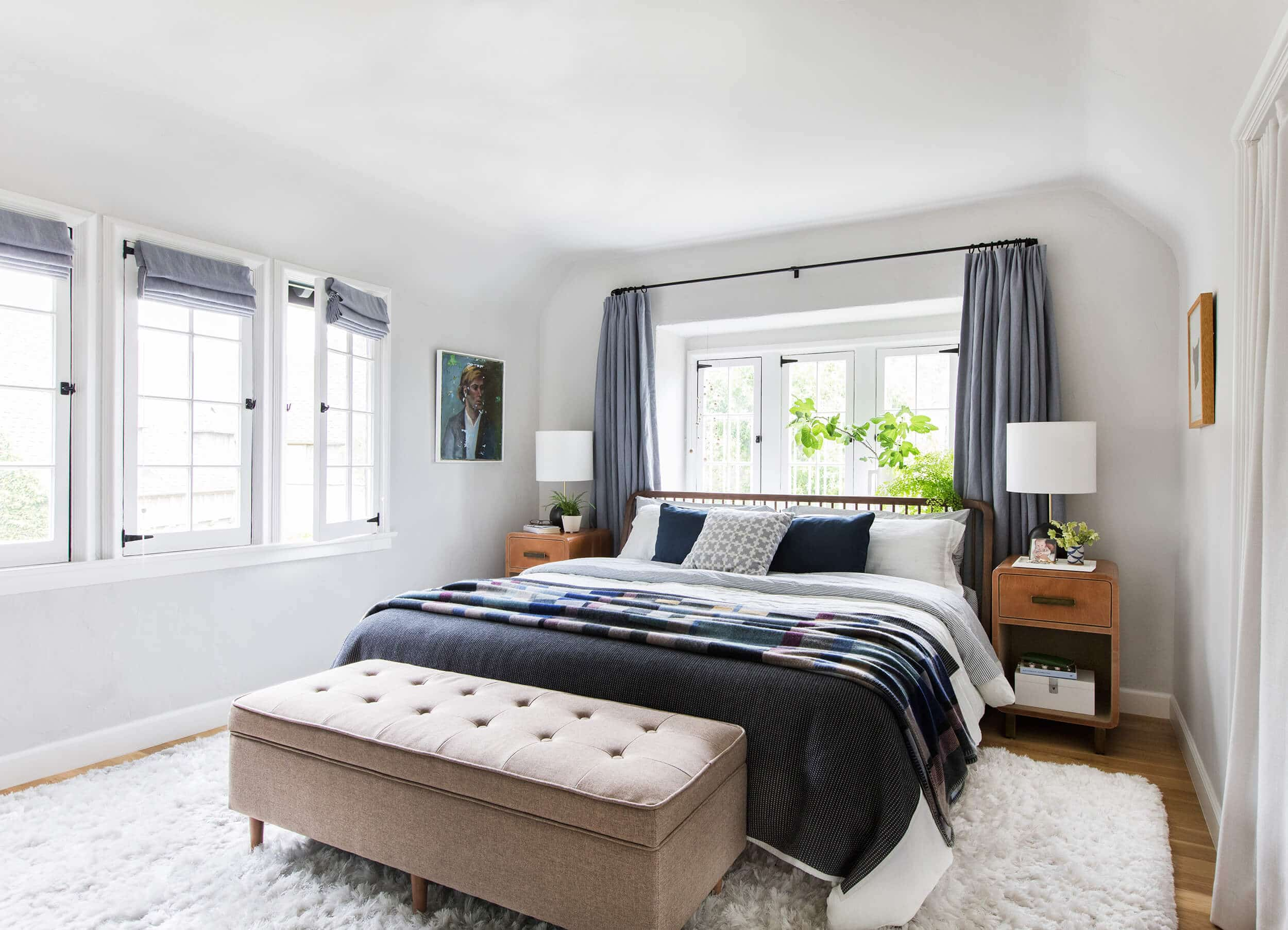 Emily Henderson Modern English Cottage Tudor Master Bedroom Reveal10 Without Light