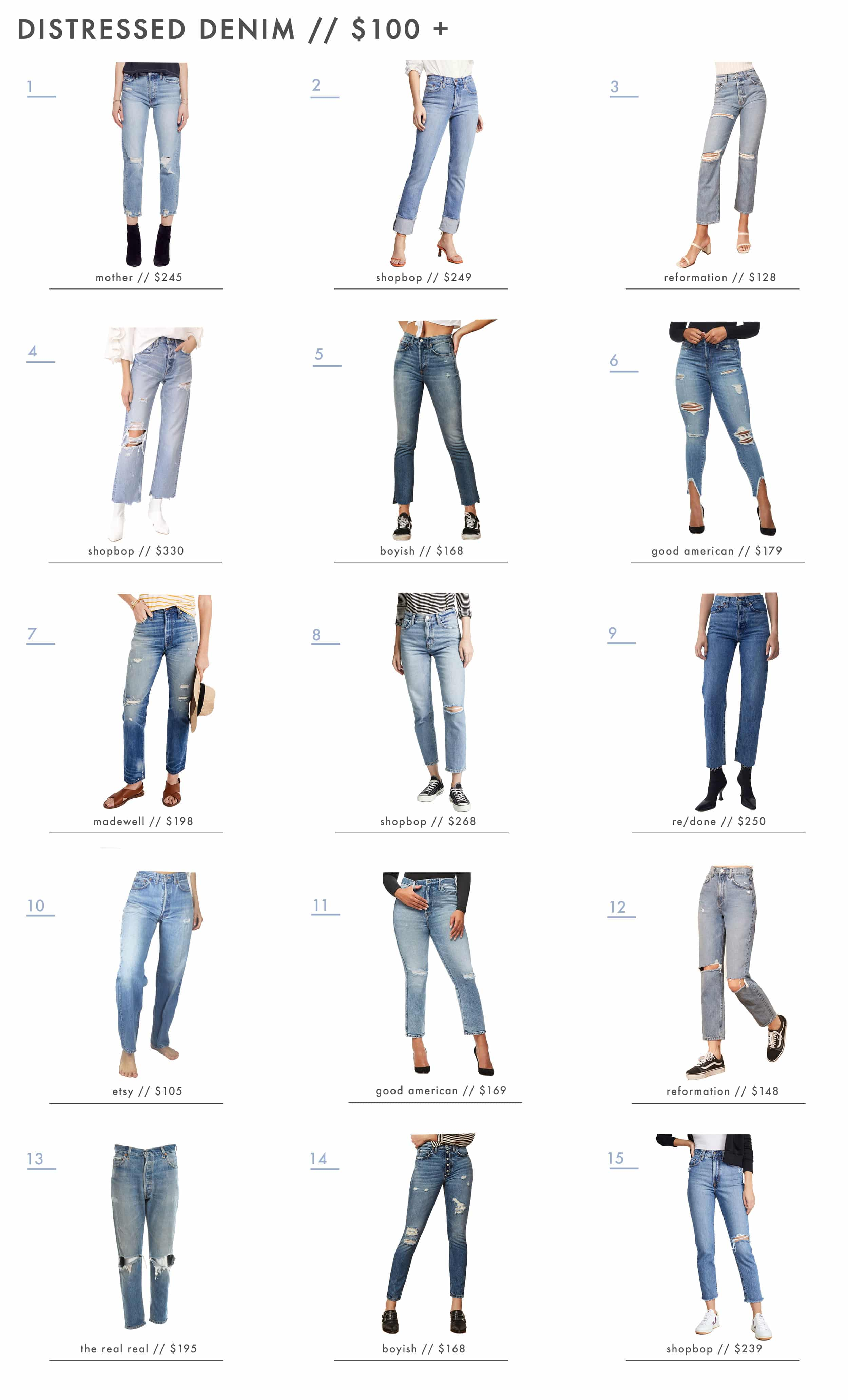 Updated Jean Over 100
