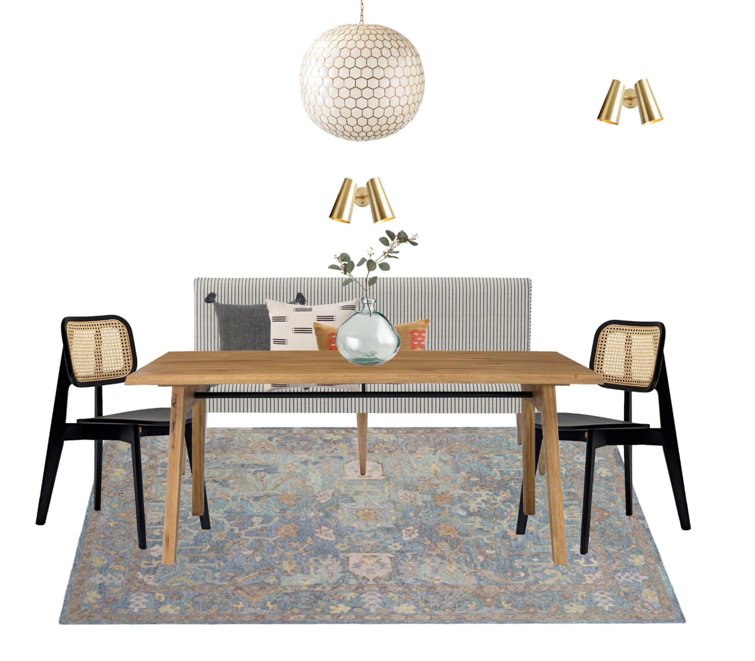 Dining Room Moodboard 1