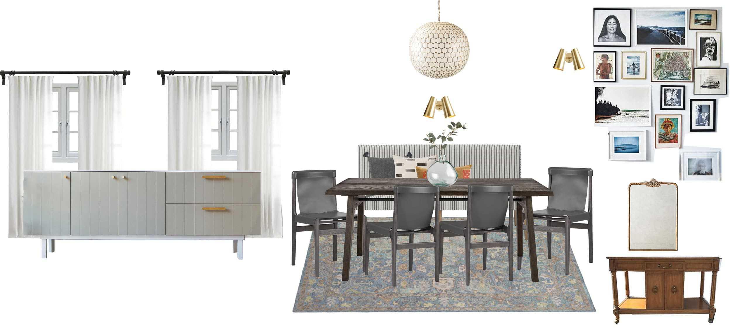 Dining Room Moodboard 4