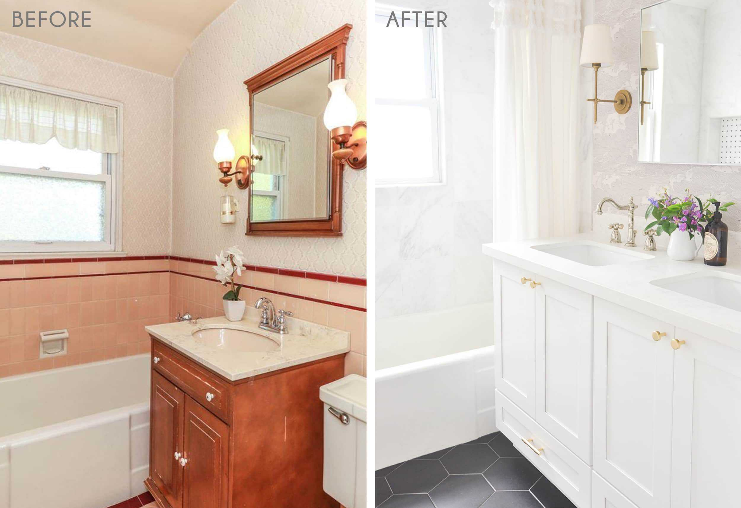 12 Diy Reader Bathroom Renovations Full Of Budget Friendly Tips