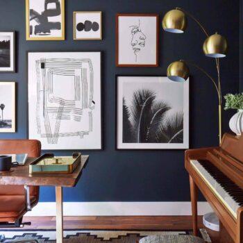 Emily Henderson Home Office Dark Modern Masculine 3