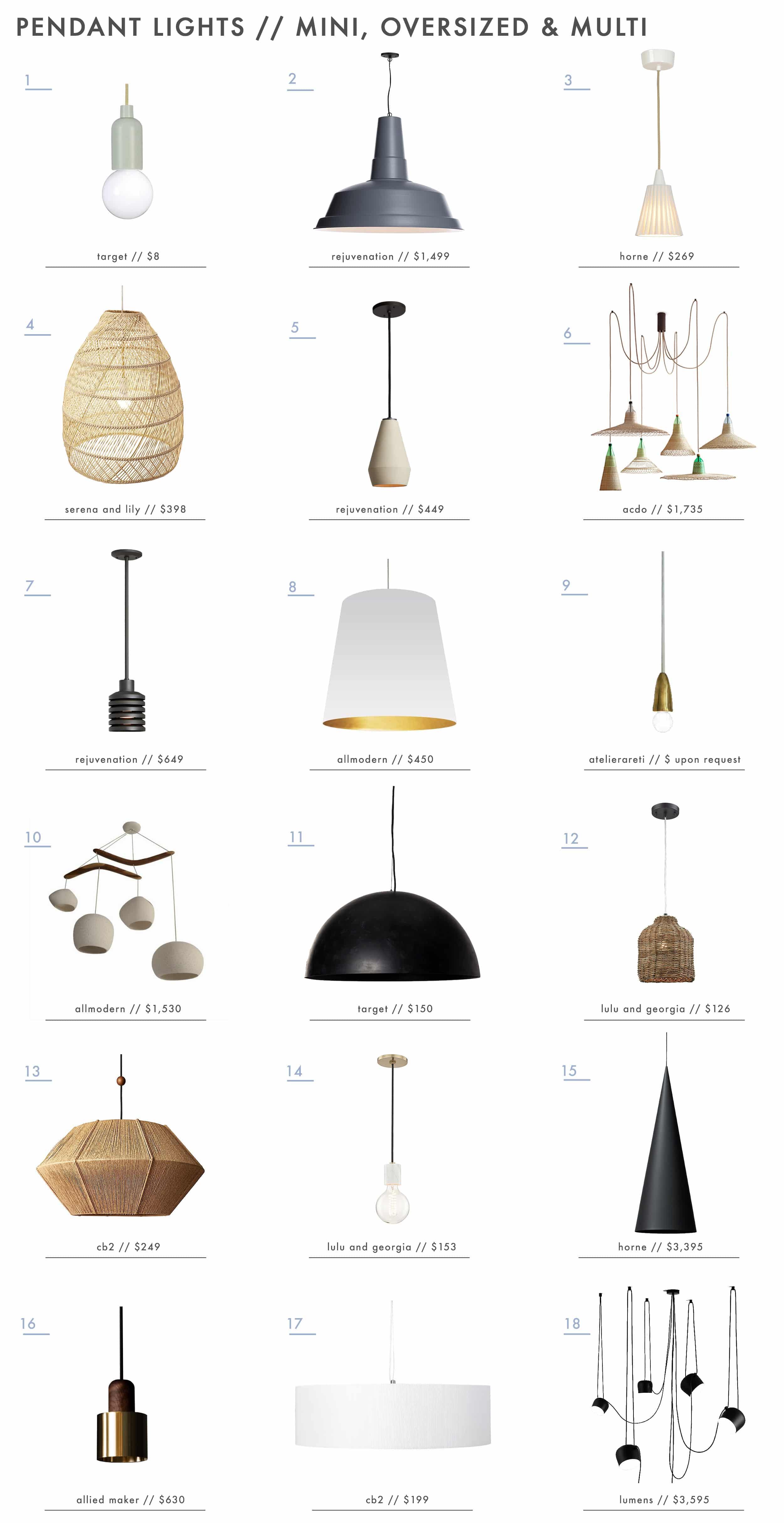 Emily Henderson Design Trends Pendant Lights