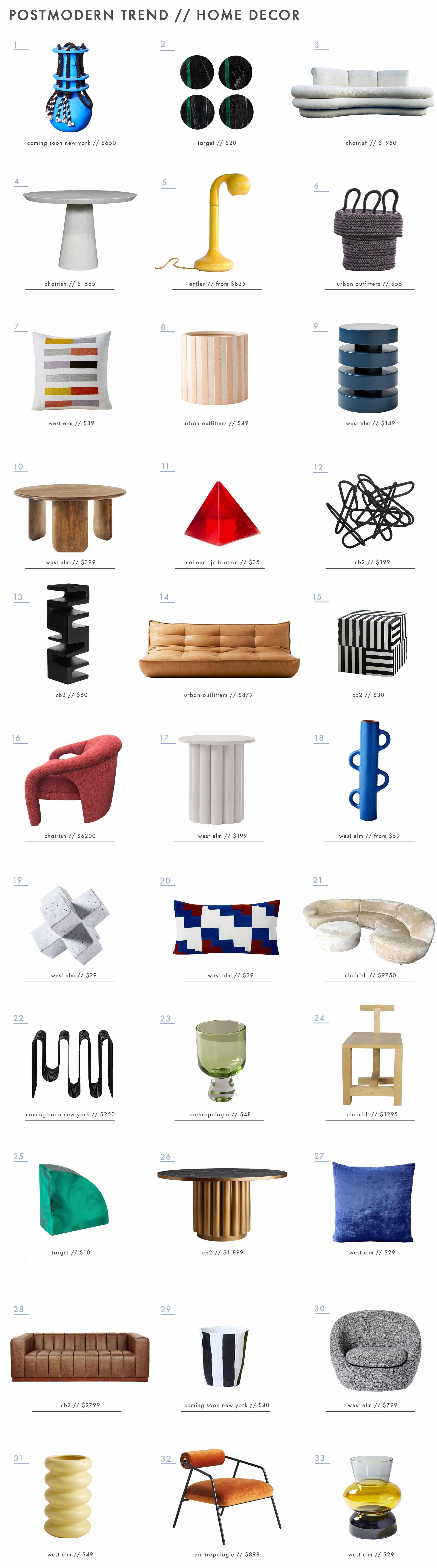 Emily Henderson Design Trends 2019 New Postmodern 1
