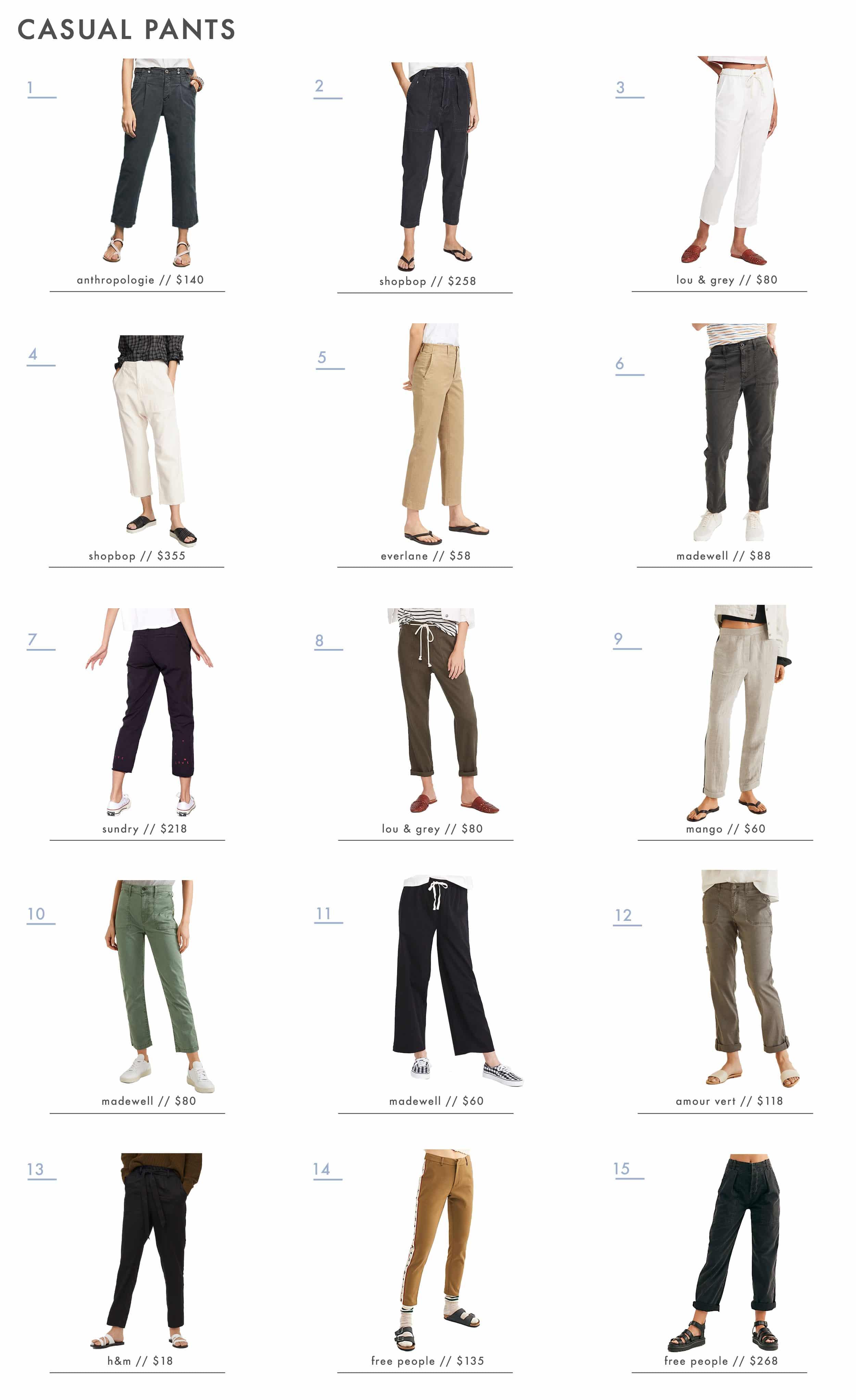 Emily Henderson lounge pants6