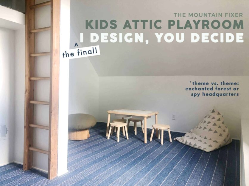 I Design You Decide Kids Play Attic Opener