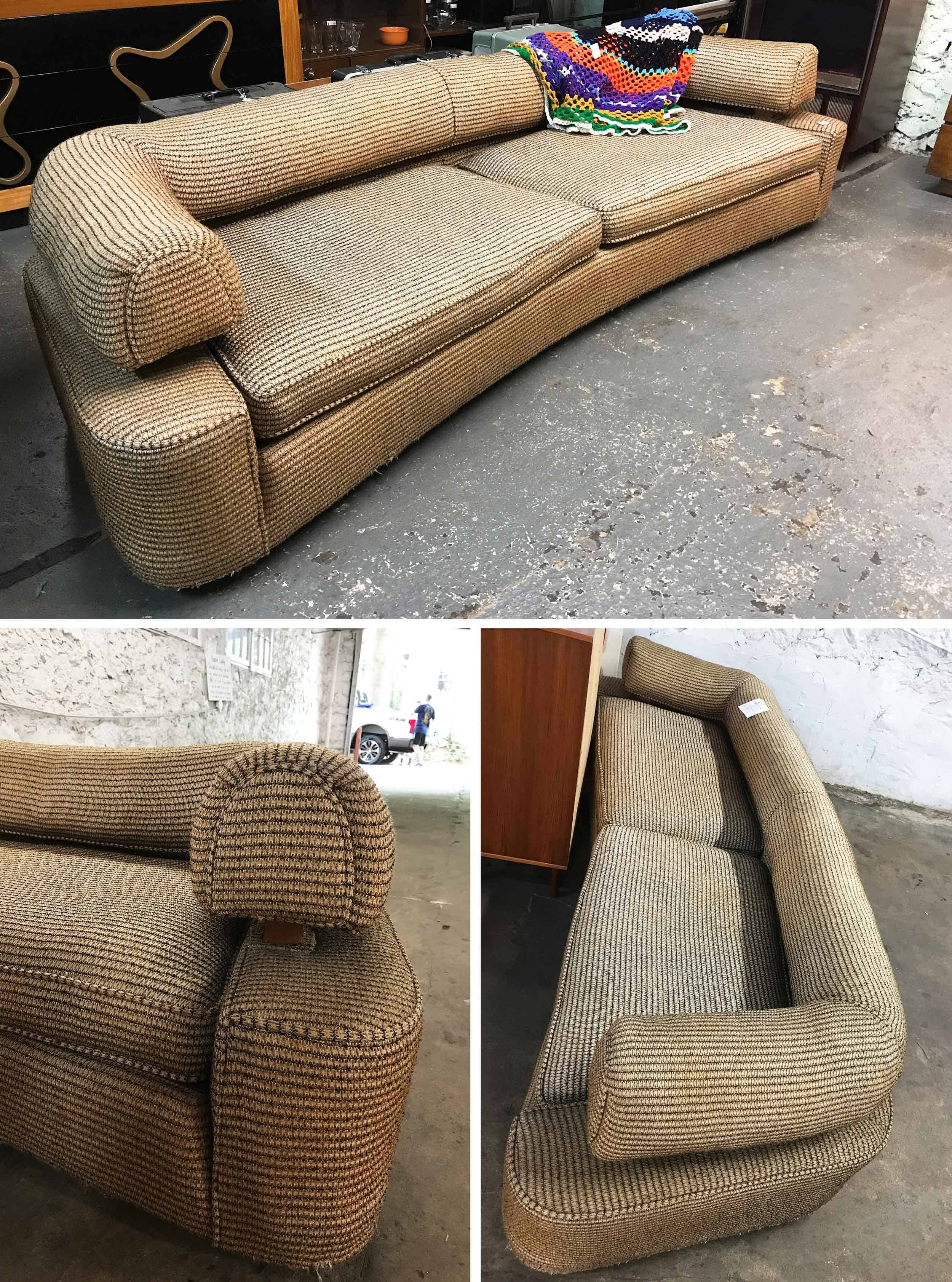 Invitation Home Vintage Sofa Before