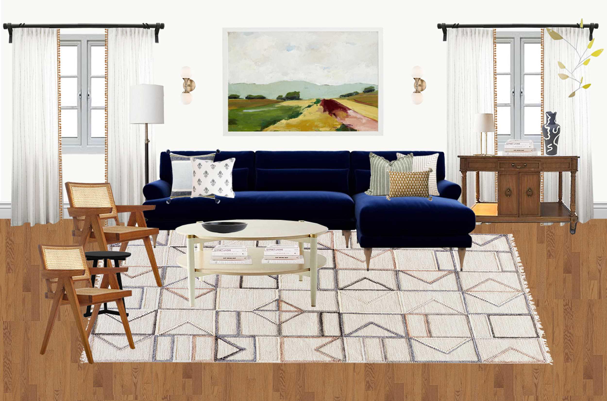 Living Room Moodboard 1