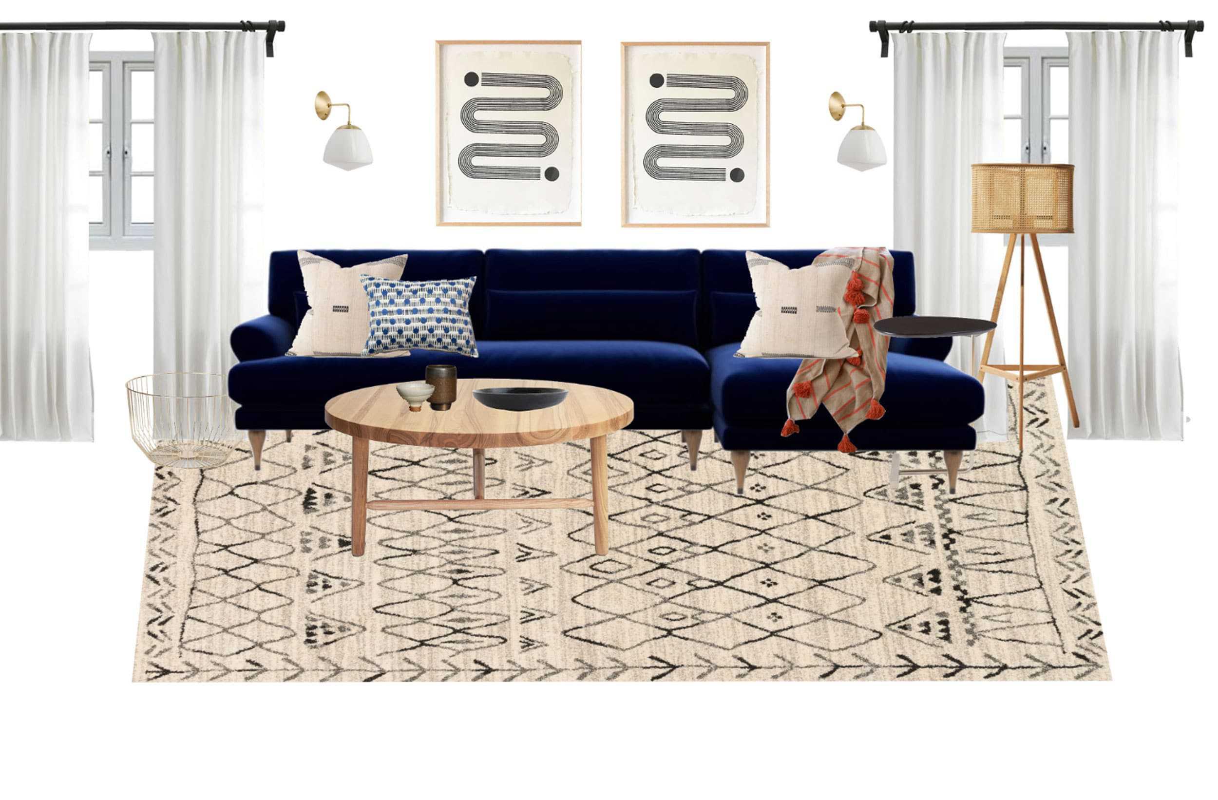 Living Room Moodboard 2 Copy