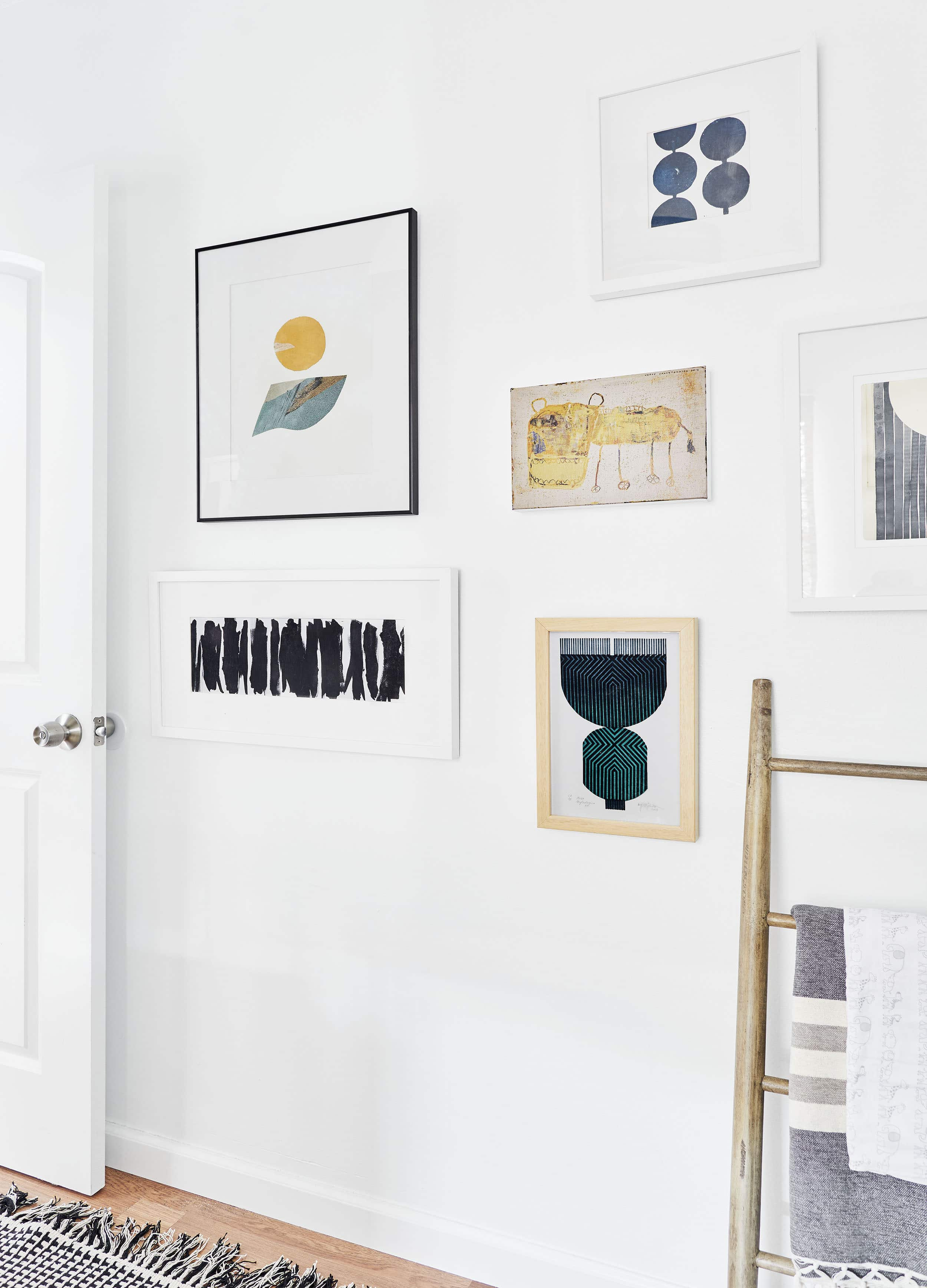 Emily Henderson Artfully Walls gallery wall ideas7