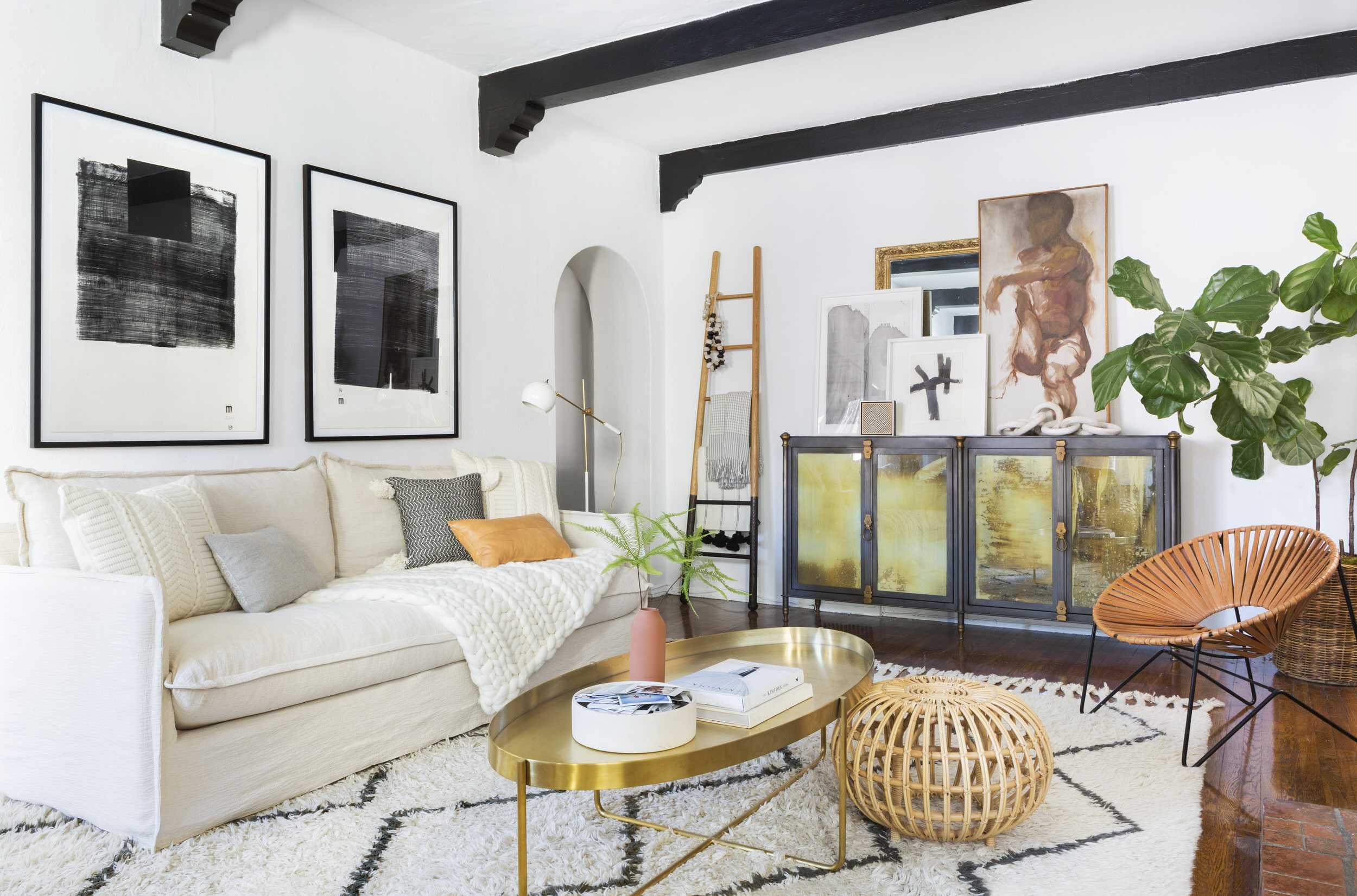 Brady Tolbert Citizenry Emily Henderson Living Room Refresh 6