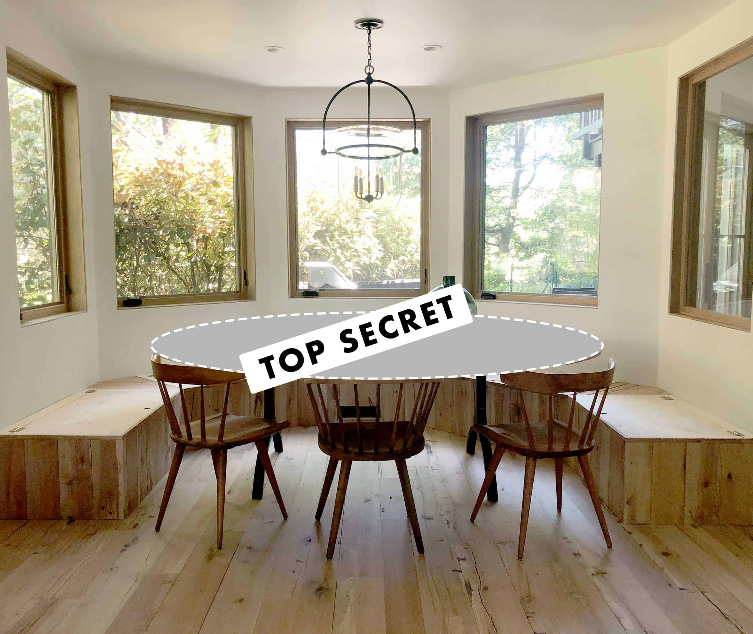 Dining Light Top Secret Table