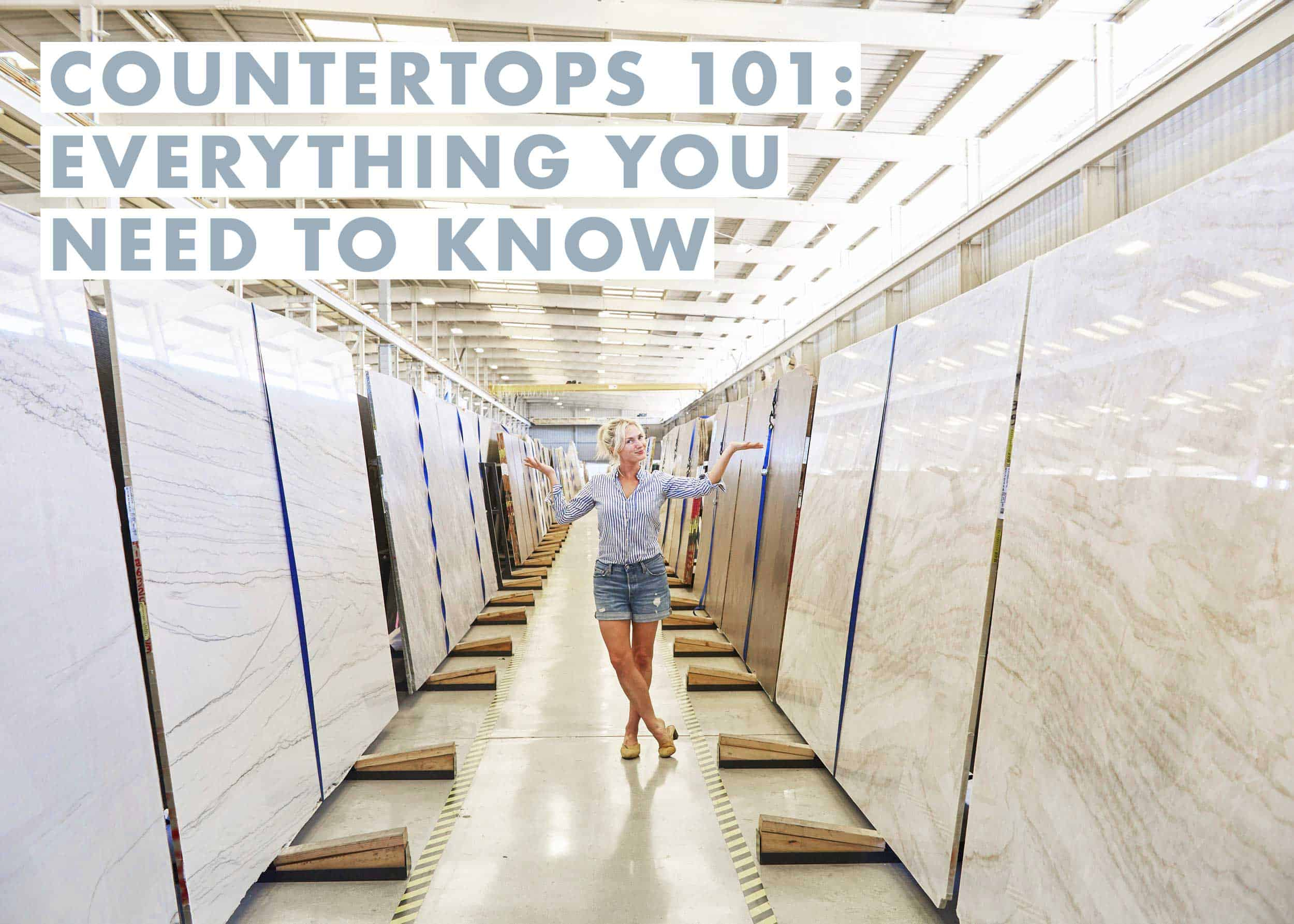 Countertops 101 All The Details On Marble Quartz Quartzite Beyond