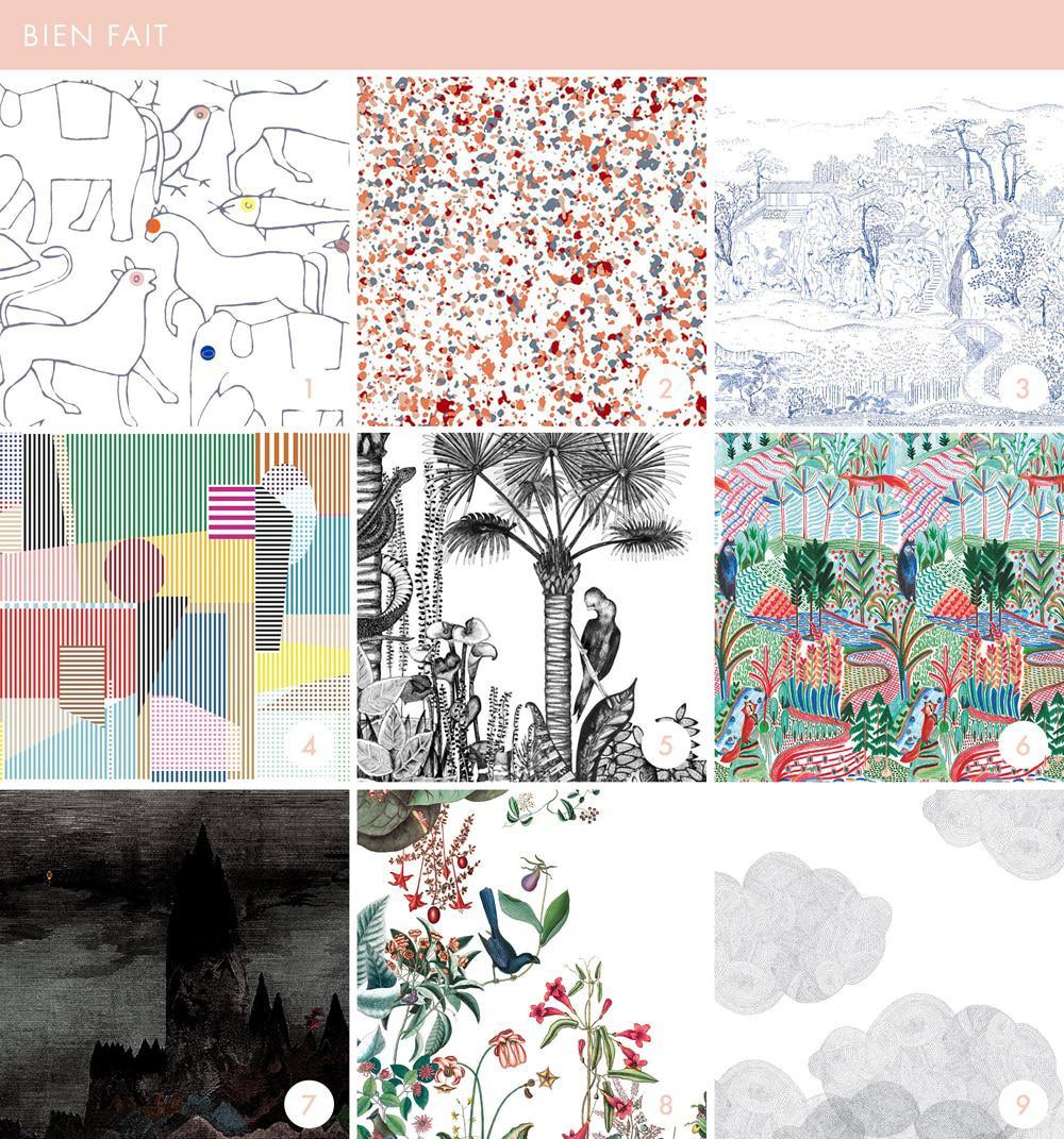 Emily Henderson Online Wallpaper Roundup Bien Fait 1