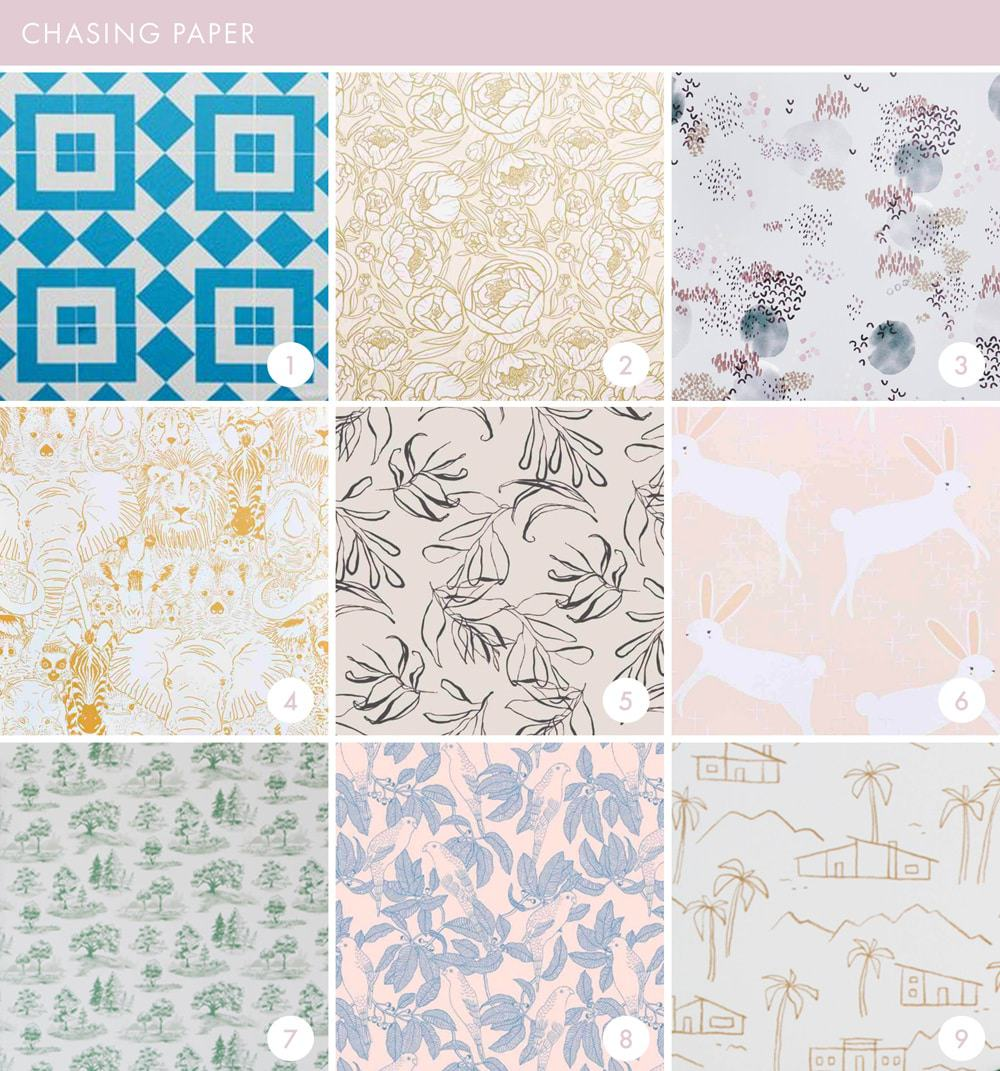 Emily Henderson Online Wallpaper Roundup Chasing Paper 1